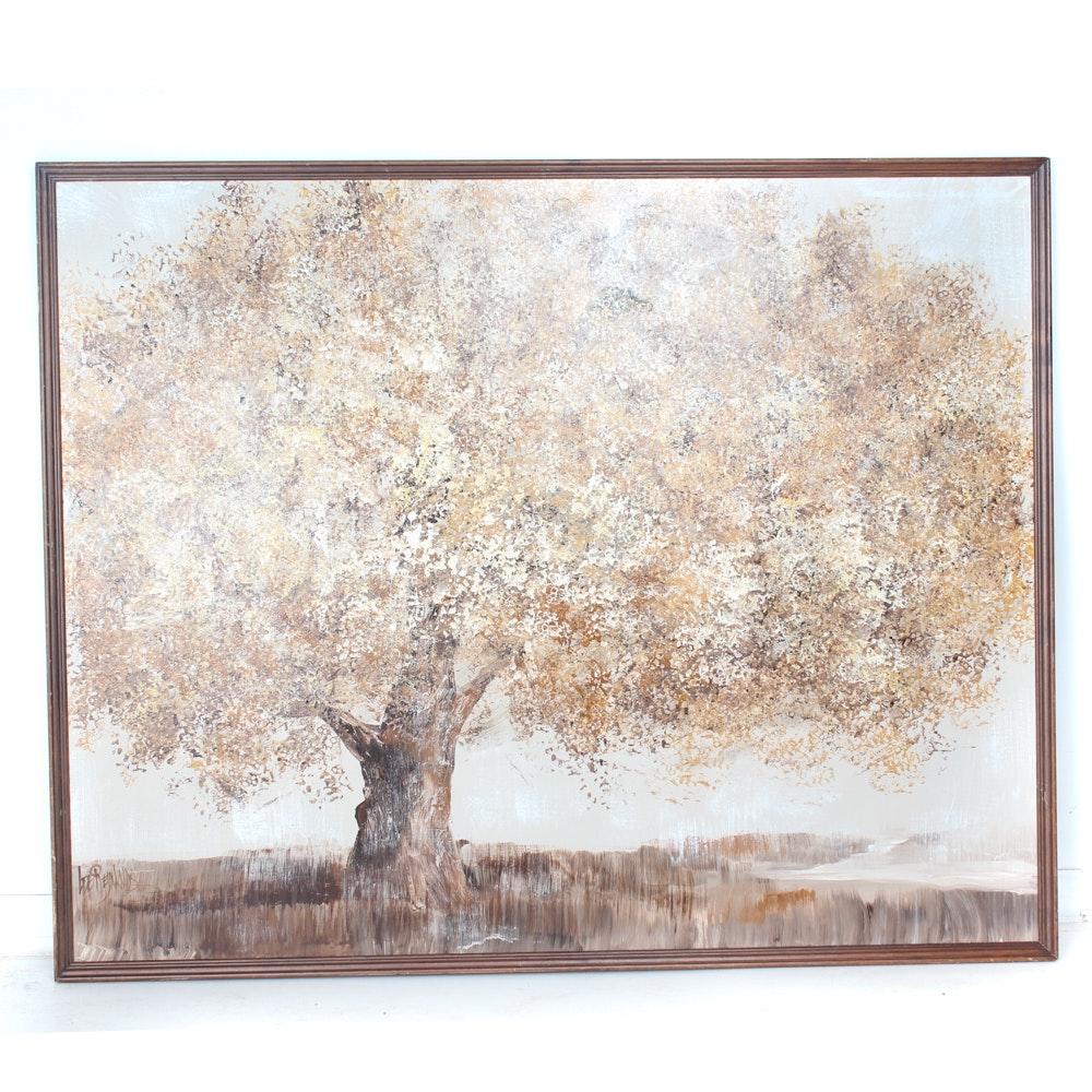 Original Vanguard Studios Oil on Canvas Landscape