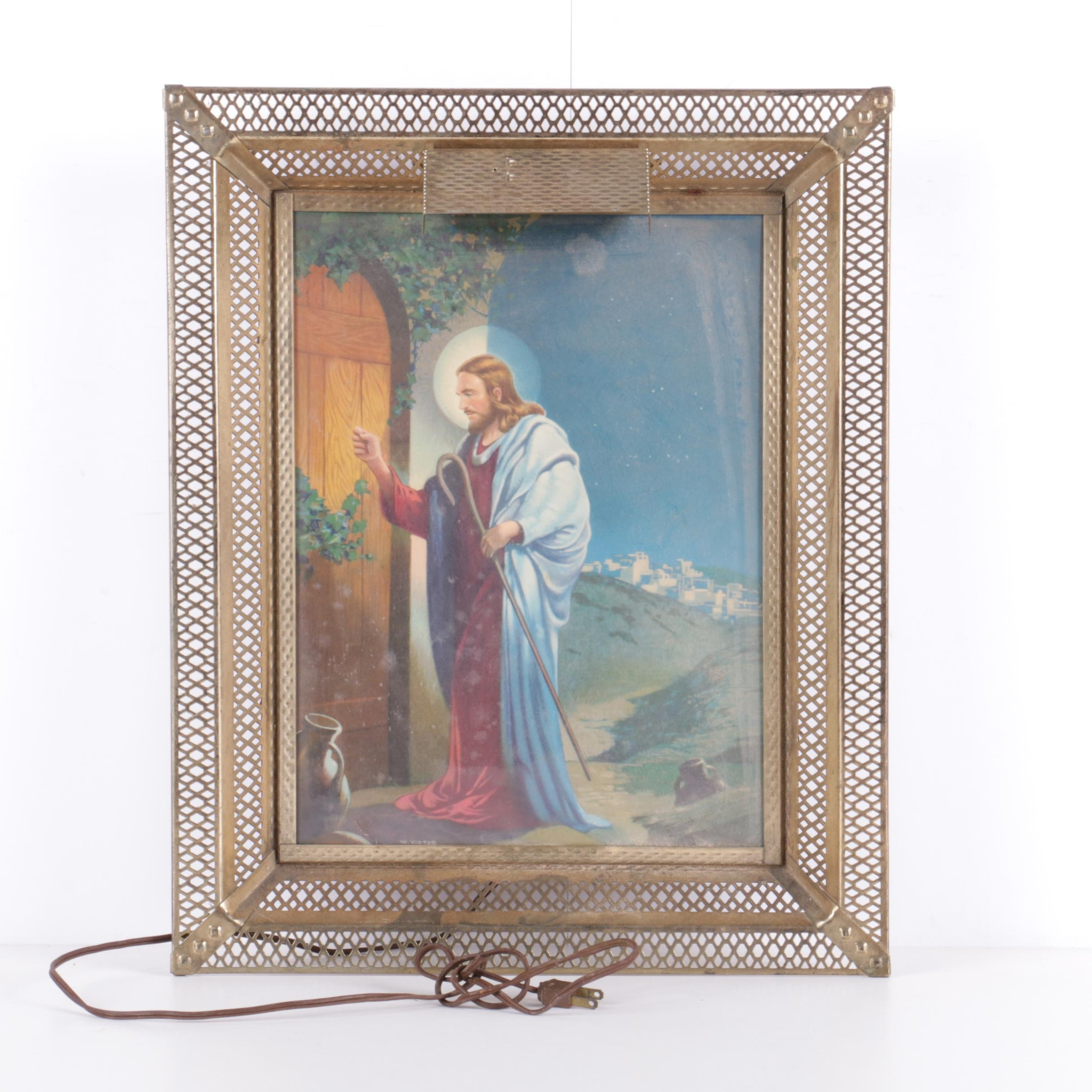 W. Victor Guinness Offset Lithograph of Christ