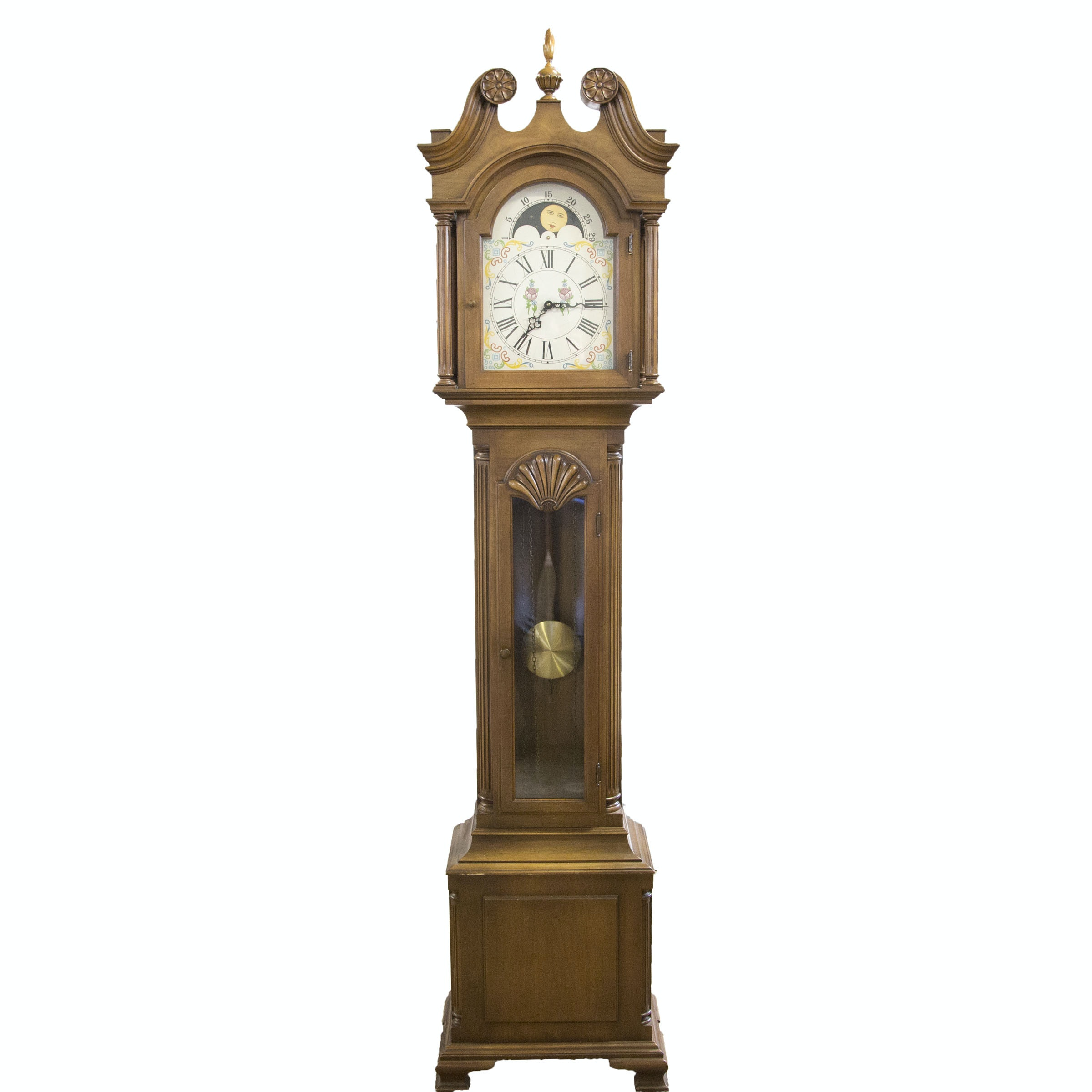 Maple Grandfather Clock