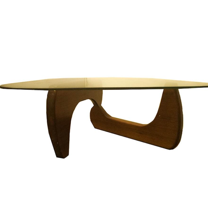 Mid Century Modern Style Coffee Table: Mid Century Modern Noguchi Style Coffee Table : EBTH