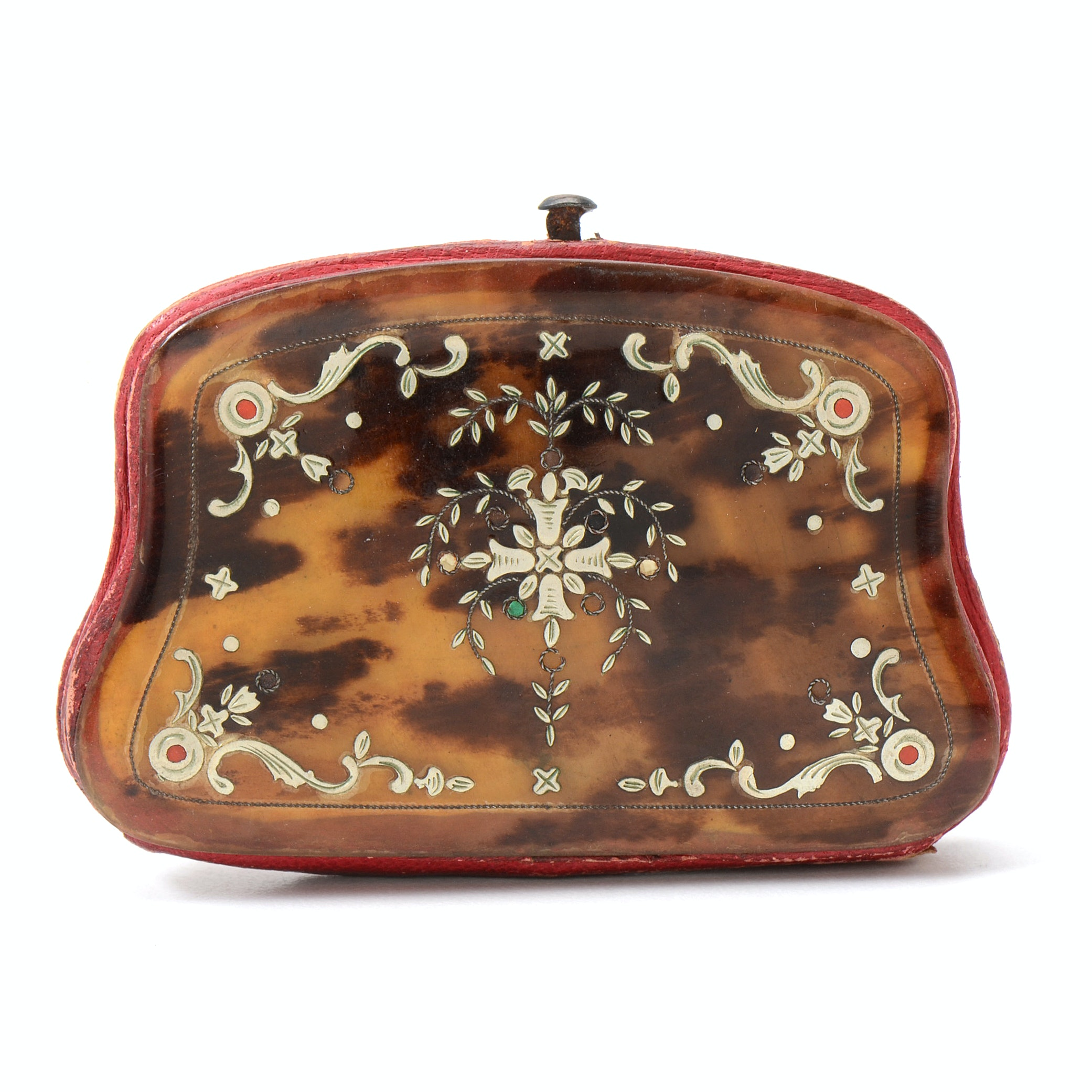 Early 20th-Century Tortoise Shell Coin Purse