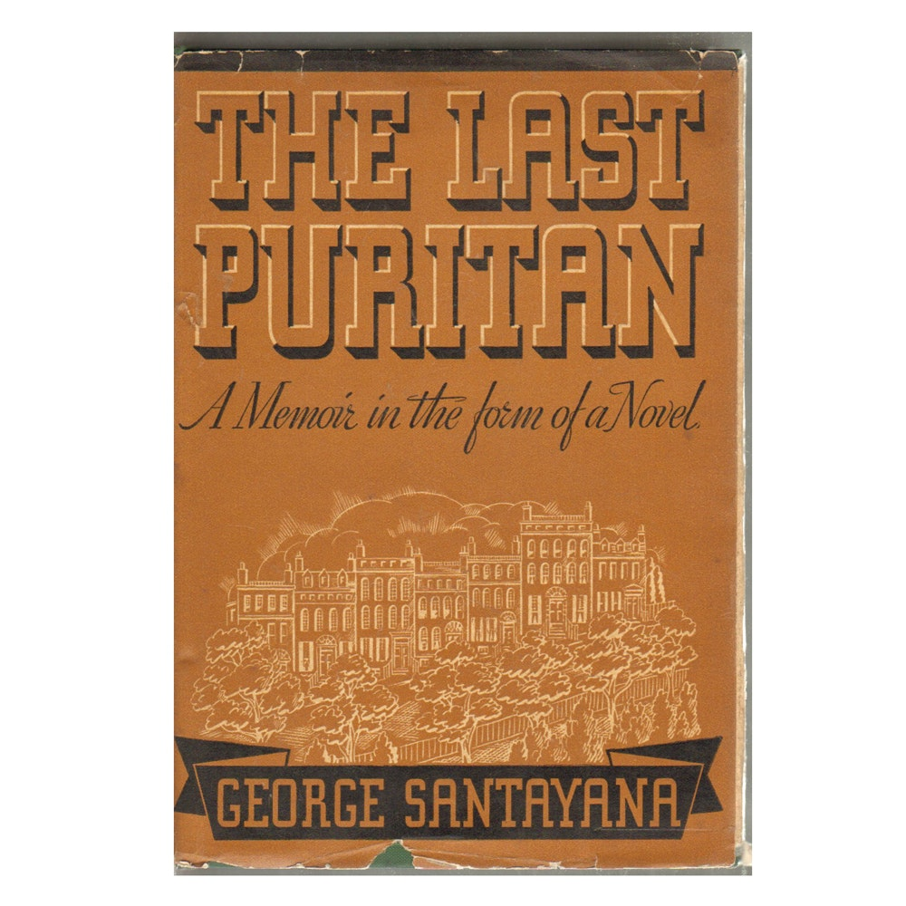 "1936 First Edition ""The Last Puritan"" by George Santayana"