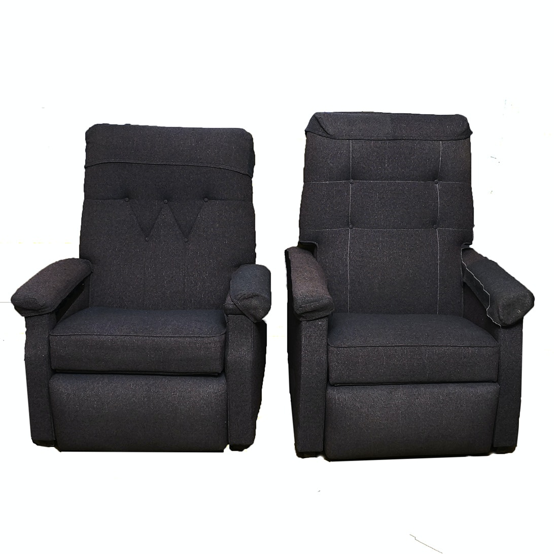 Two Matching Recliners