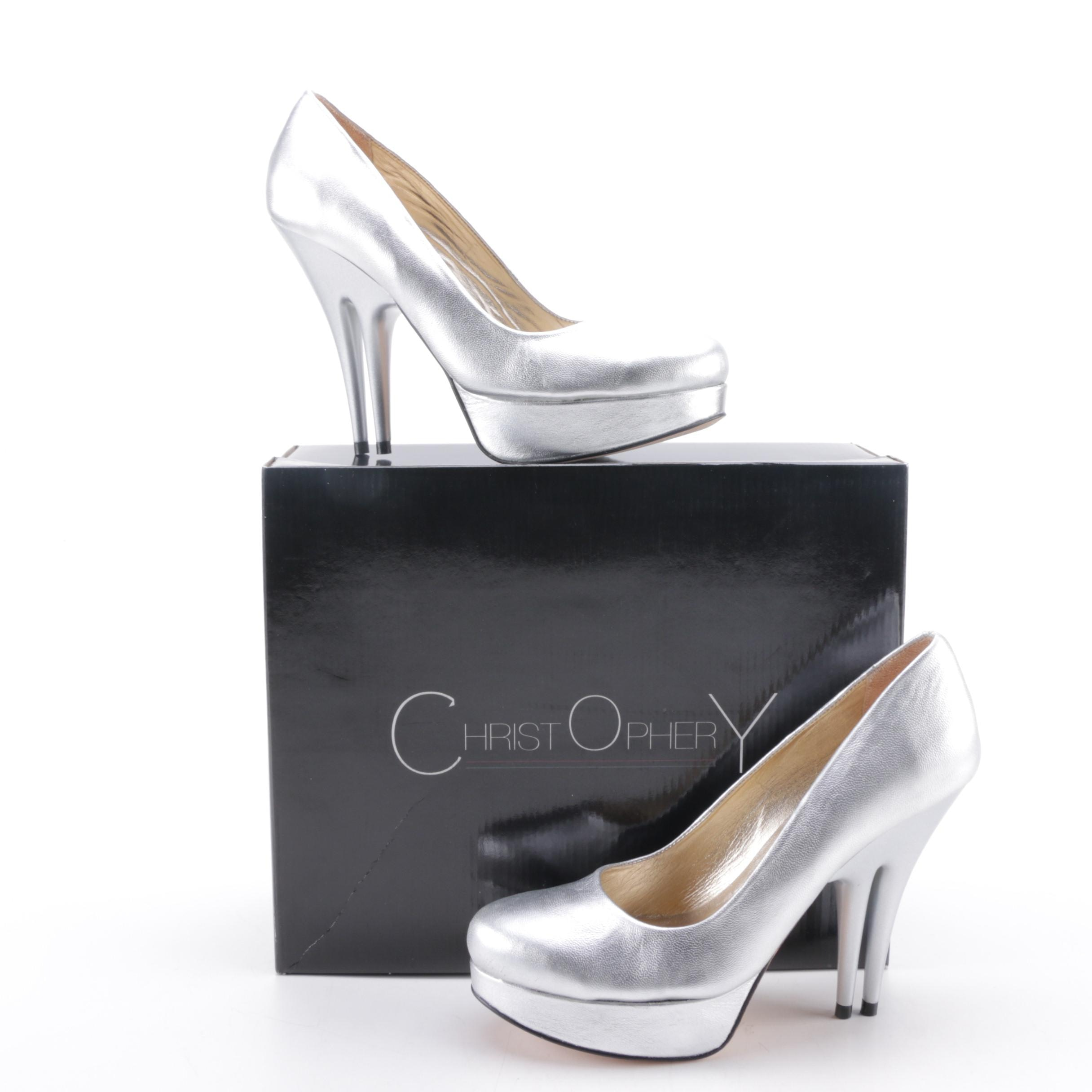 Christopher Coy Collection Cloud Nine Almond Prototype Heels