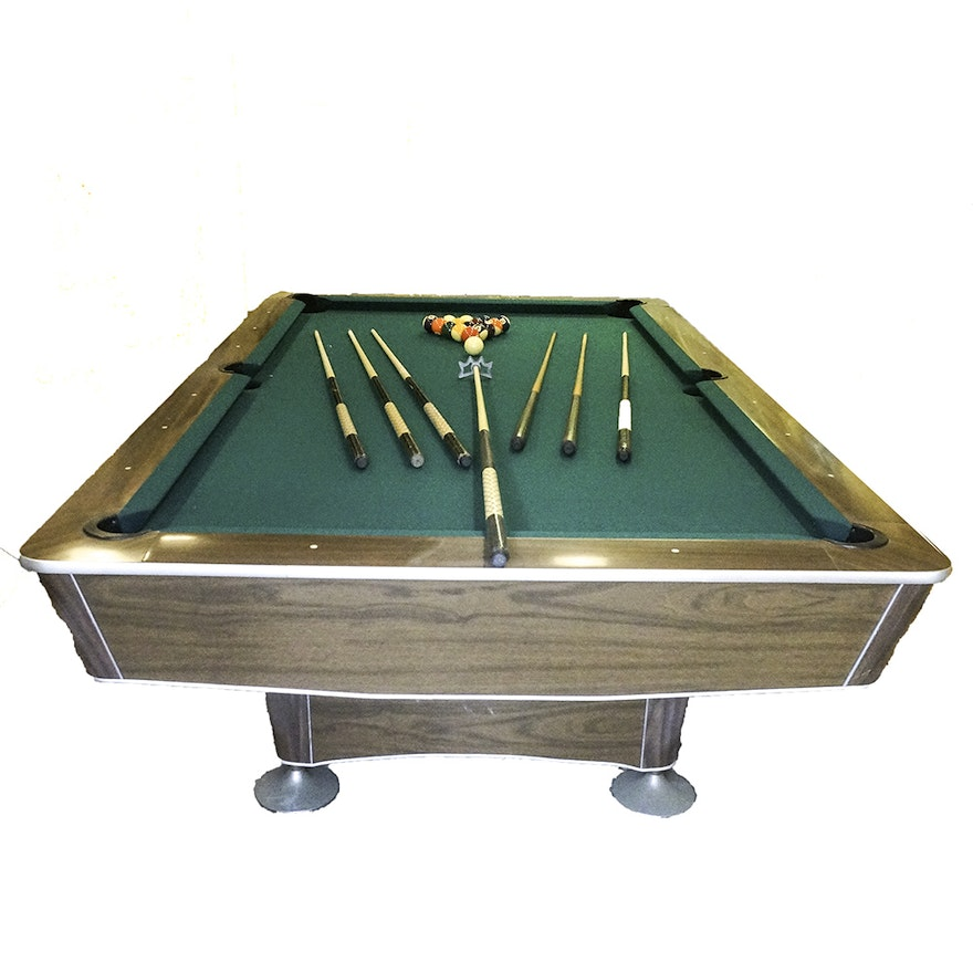 Vintage Delta Billiards Table EBTH - Pool table scorekeeper