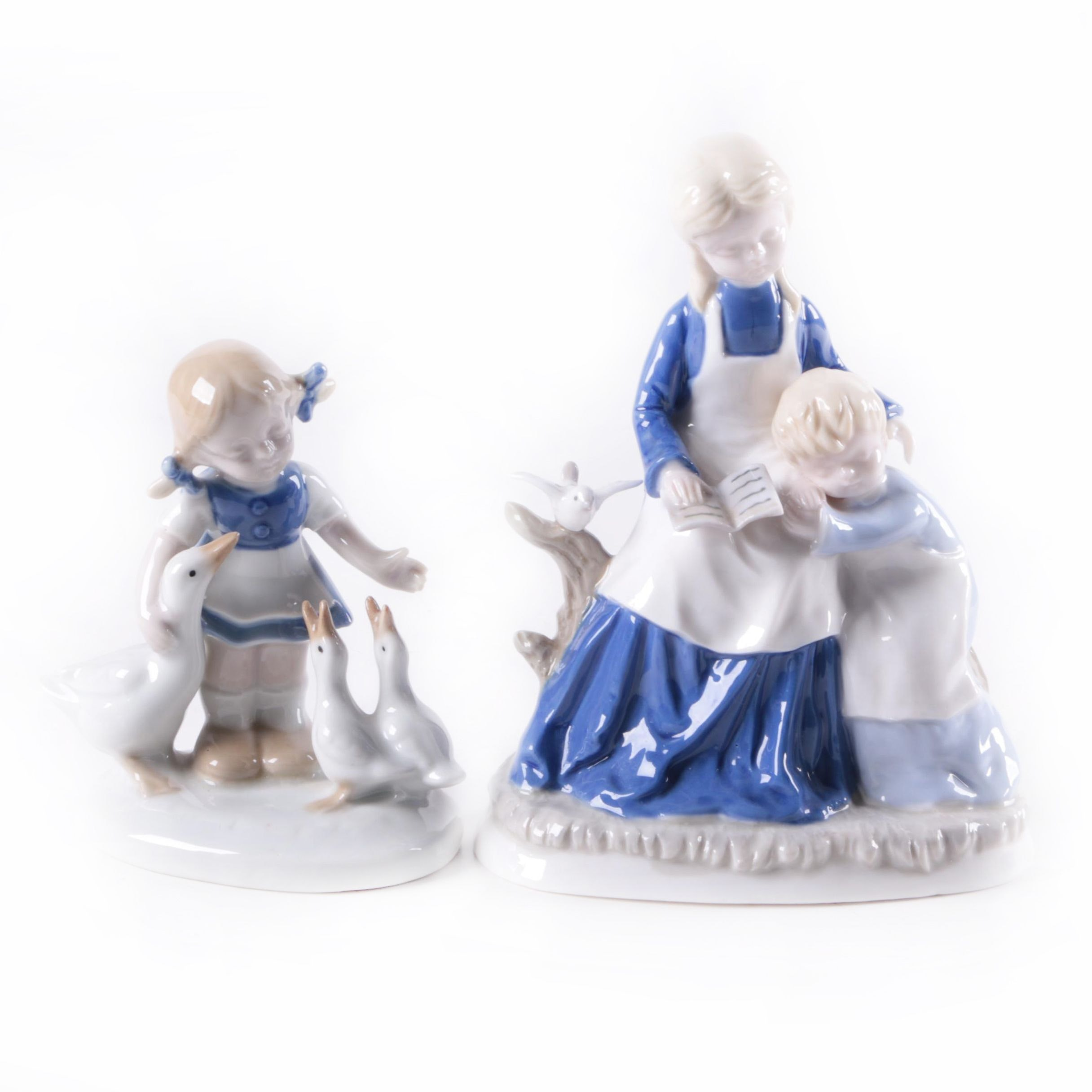 Porcelain Figurines, Including Carl Schiedig