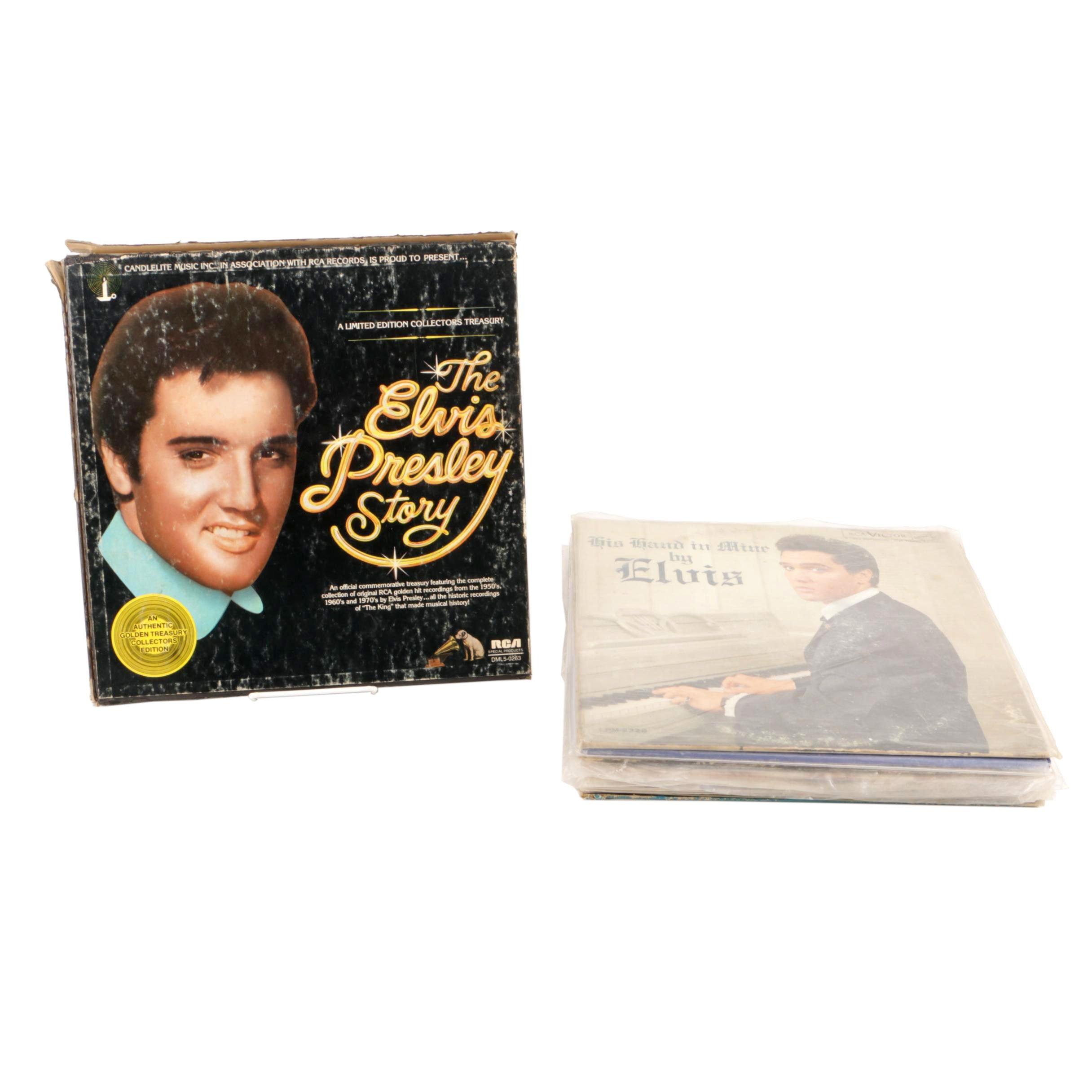 """Elvis in Concert"", ""Elvis Sings Flaming Star"" and Other Elvis Presley Records"