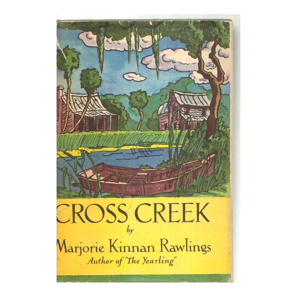 "1942 First Edition ""Cross Creek"" by Marjorie Kinnan Rawlings"