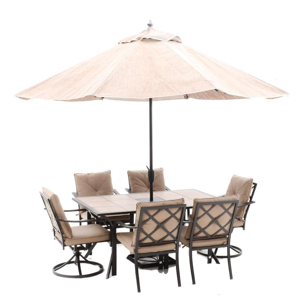 Patio Furniture Louisville Ky Teak Outdoor Furniture Seattle Garden Treasures Lunburg 3piece