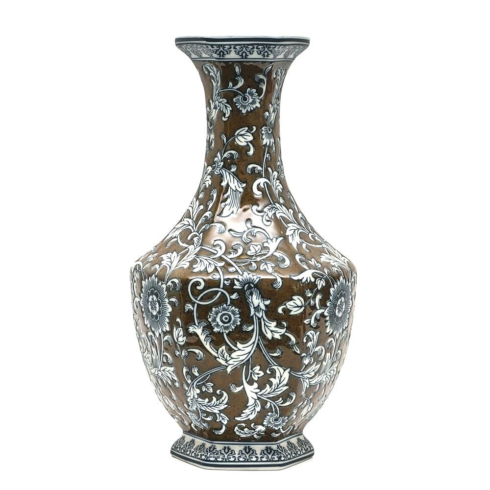 Chinese Porcelain Floral Vase