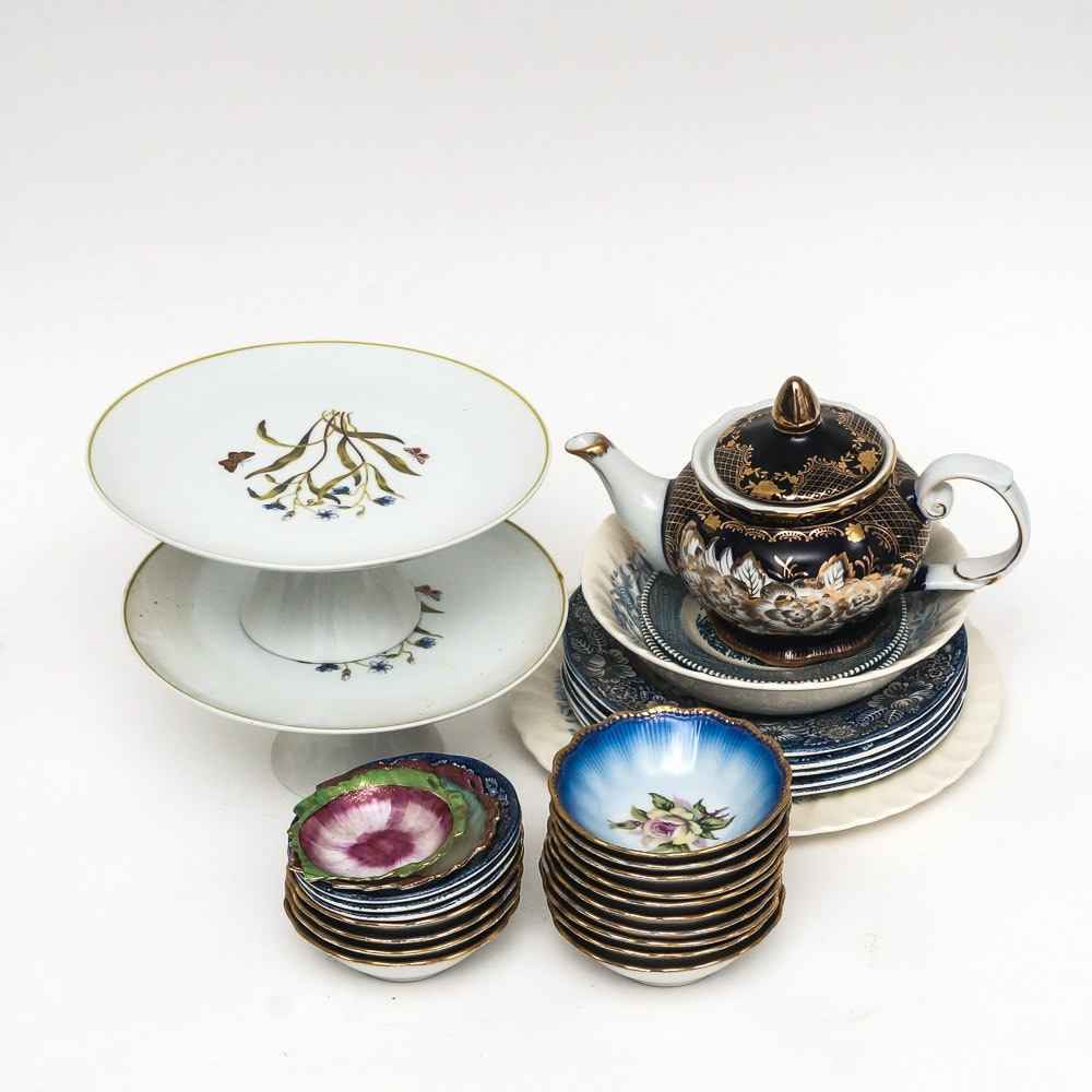 Porcelain and Ironstone Tableware