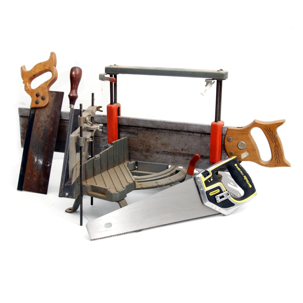 Collection of Handsaws