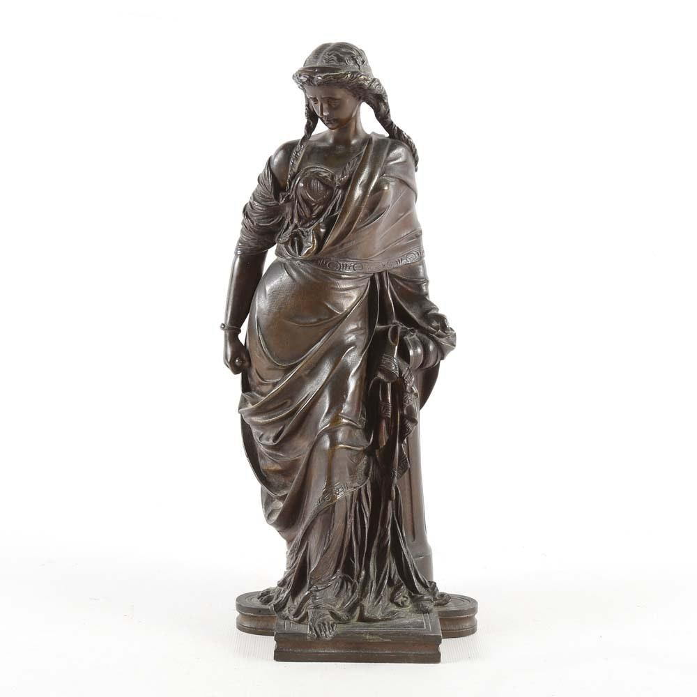 Jean-Jules Salmson Bronze Sculpture