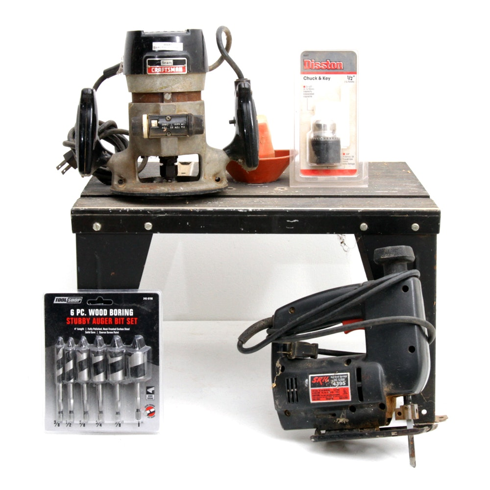 Craftsman Router and Skilsaw