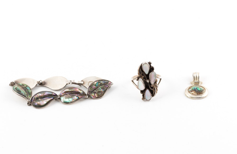 Sterling Silver Shell Jewelry
