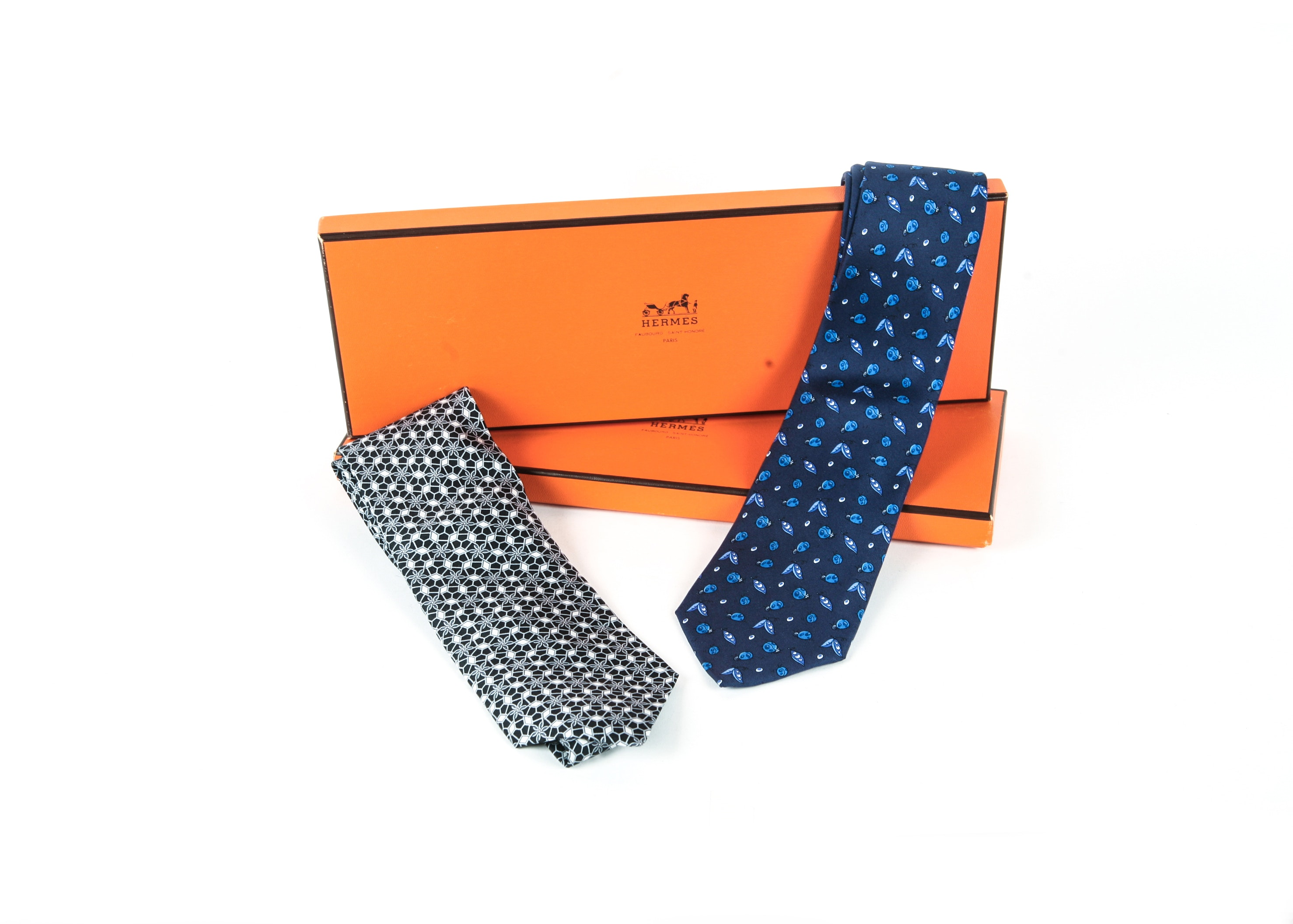 Vintage Hermès Silk Neckties