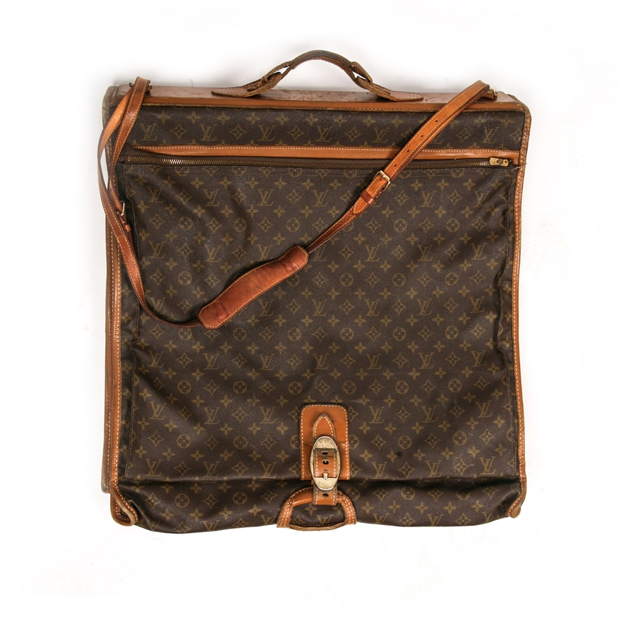 322988695bc5 Circa 1970s Vintage Louis Vuitton French Company Garment Bag   EBTH