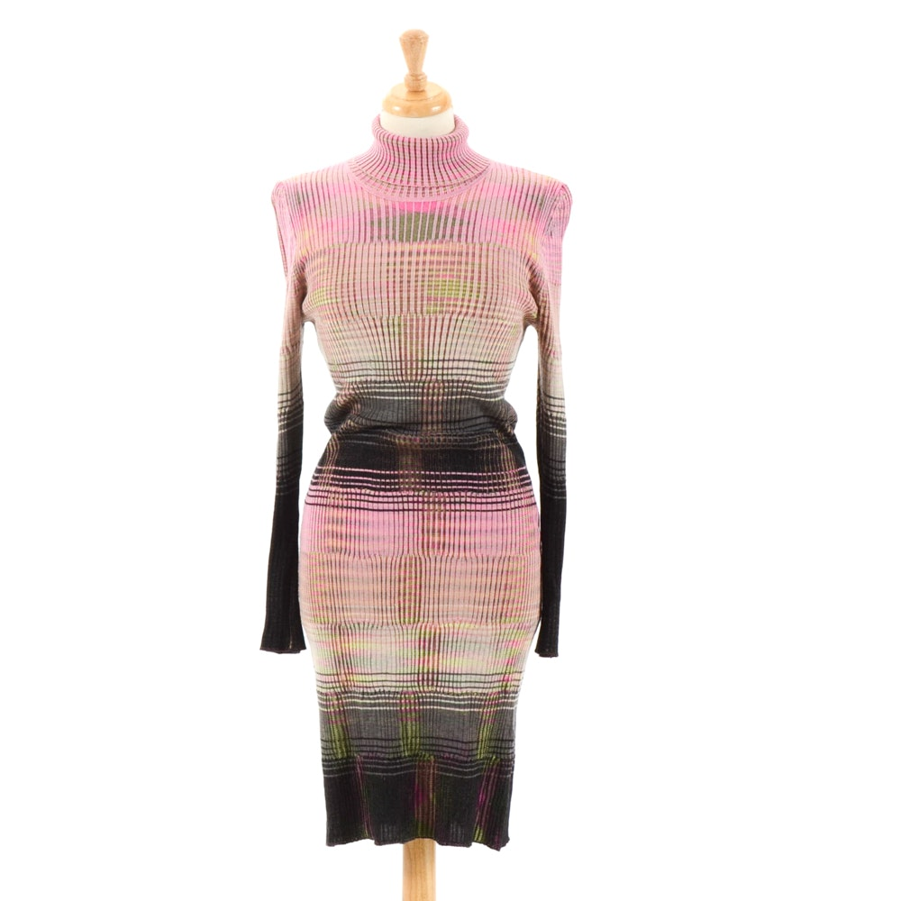 Missoni Turtleneck Dress