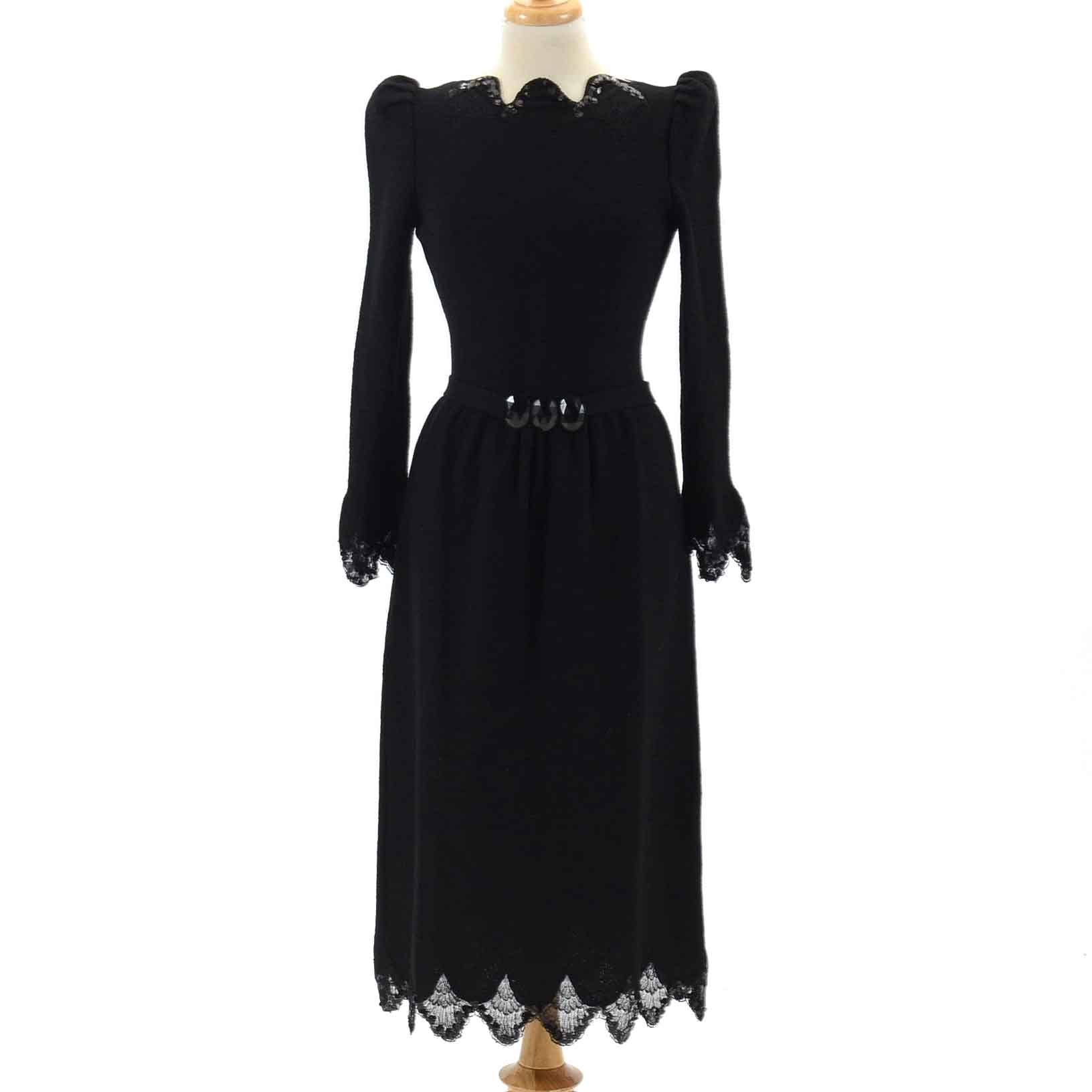 Vintage Adolfo Evening Dress