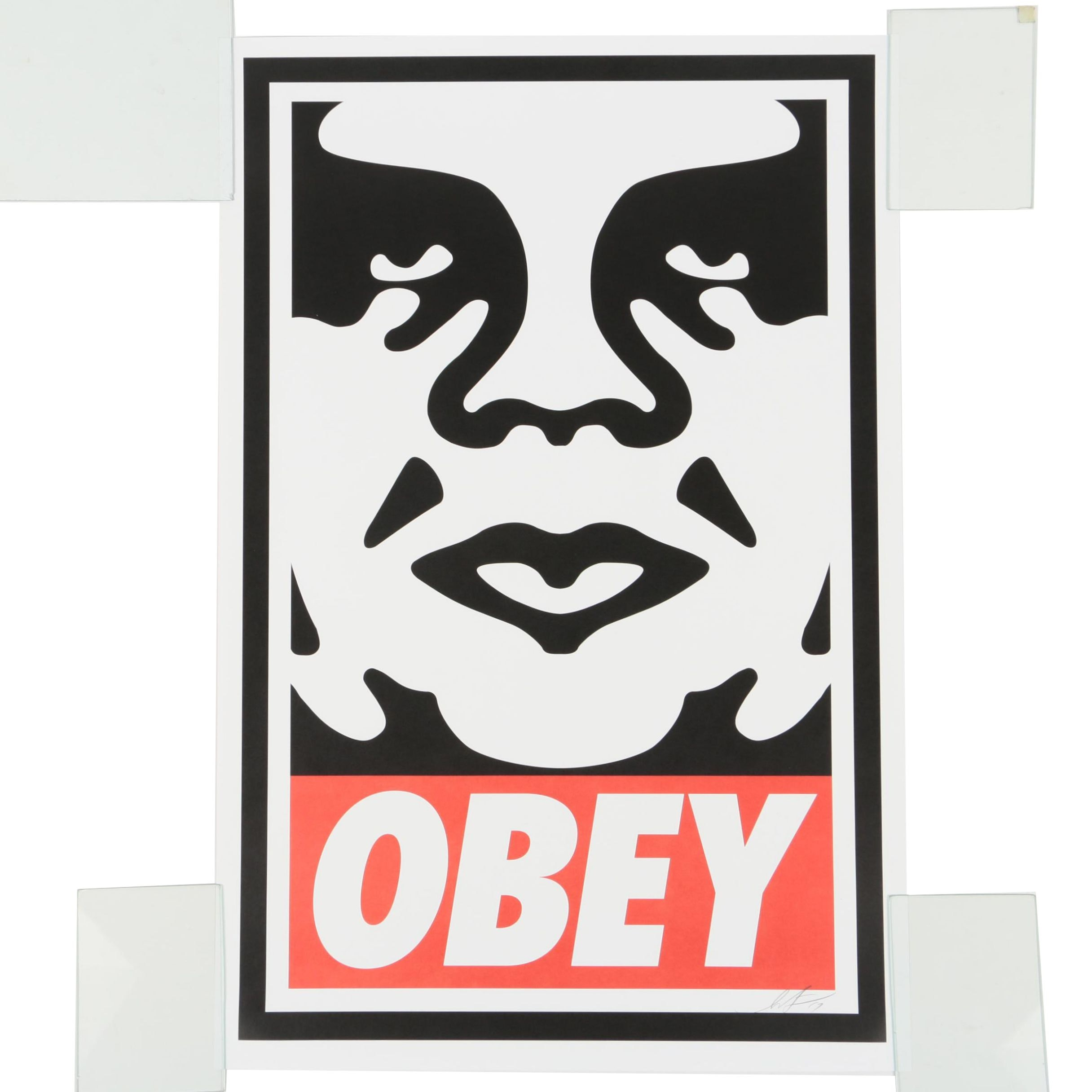 """Shepard Fairey Offset Print Poster """"Obey"""""""