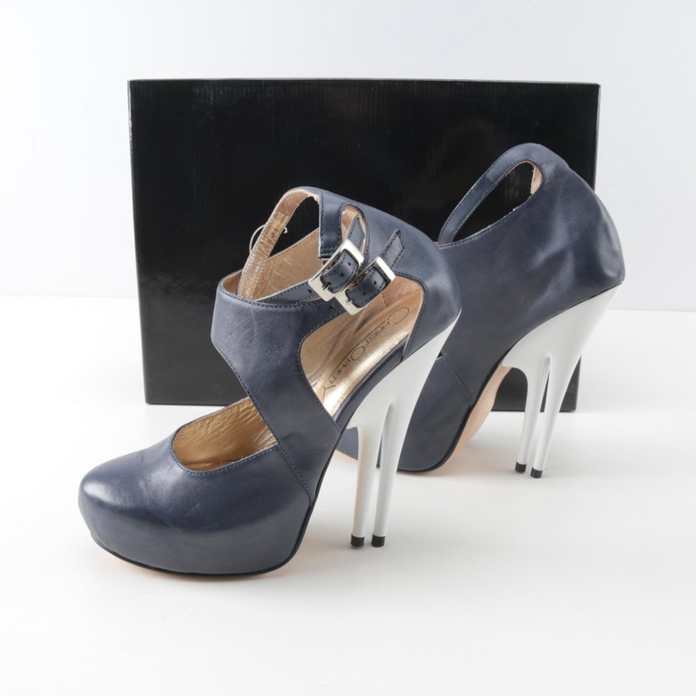 Christopher Coy Prototype Dual Heeled Stilettos