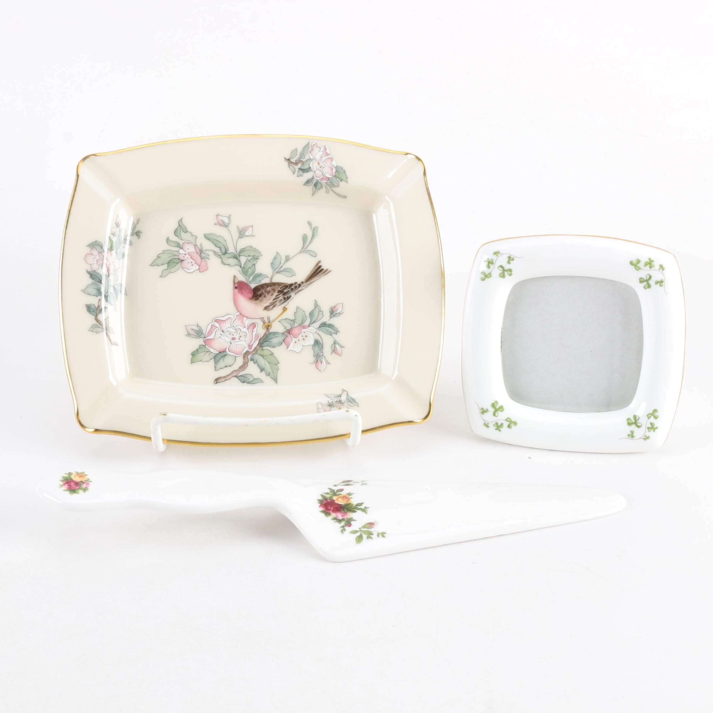 Porcelain Serveware and Decor Featuring Lenox