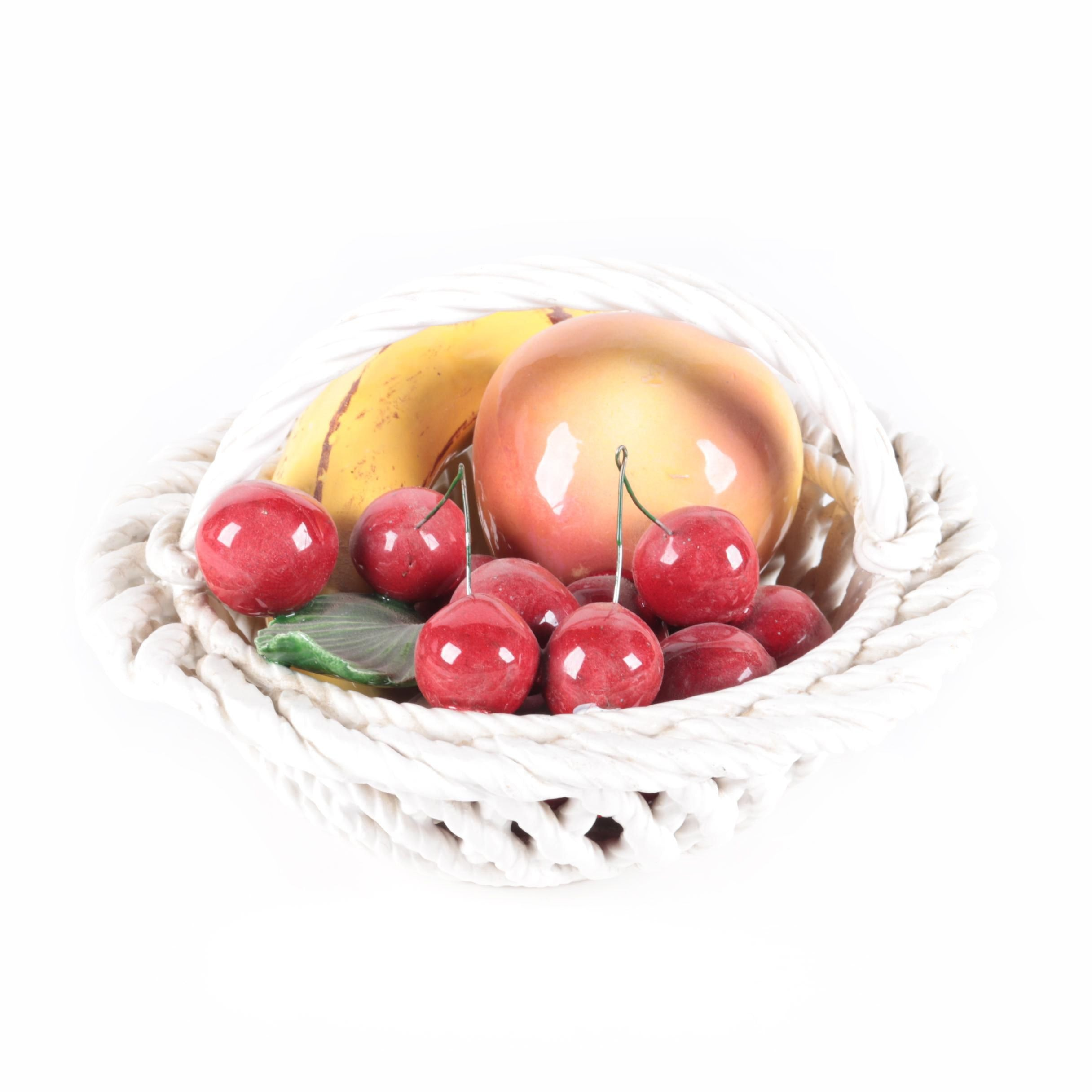 Italian Decorative Fruit Basket