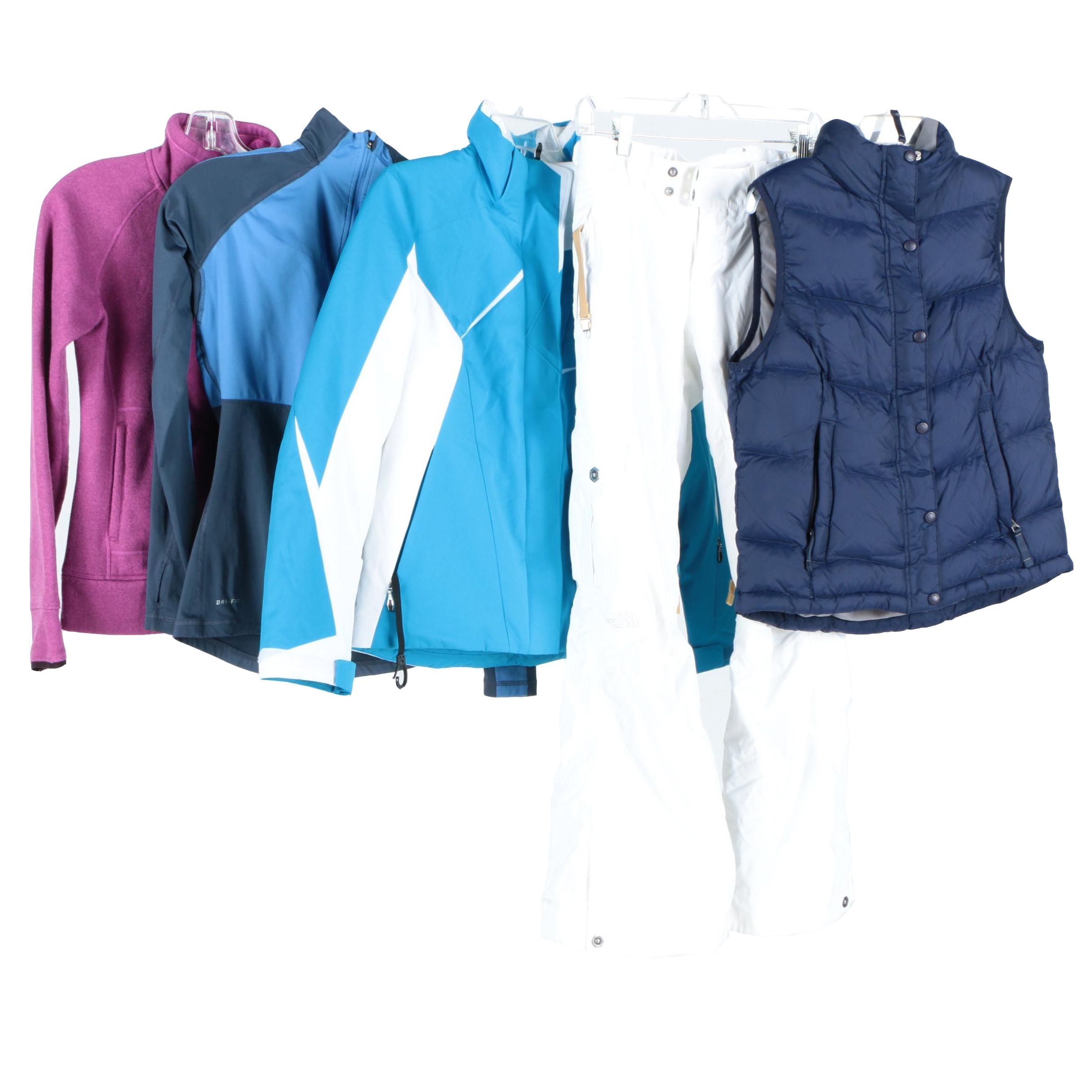 Women's Outerwear Including The North Face