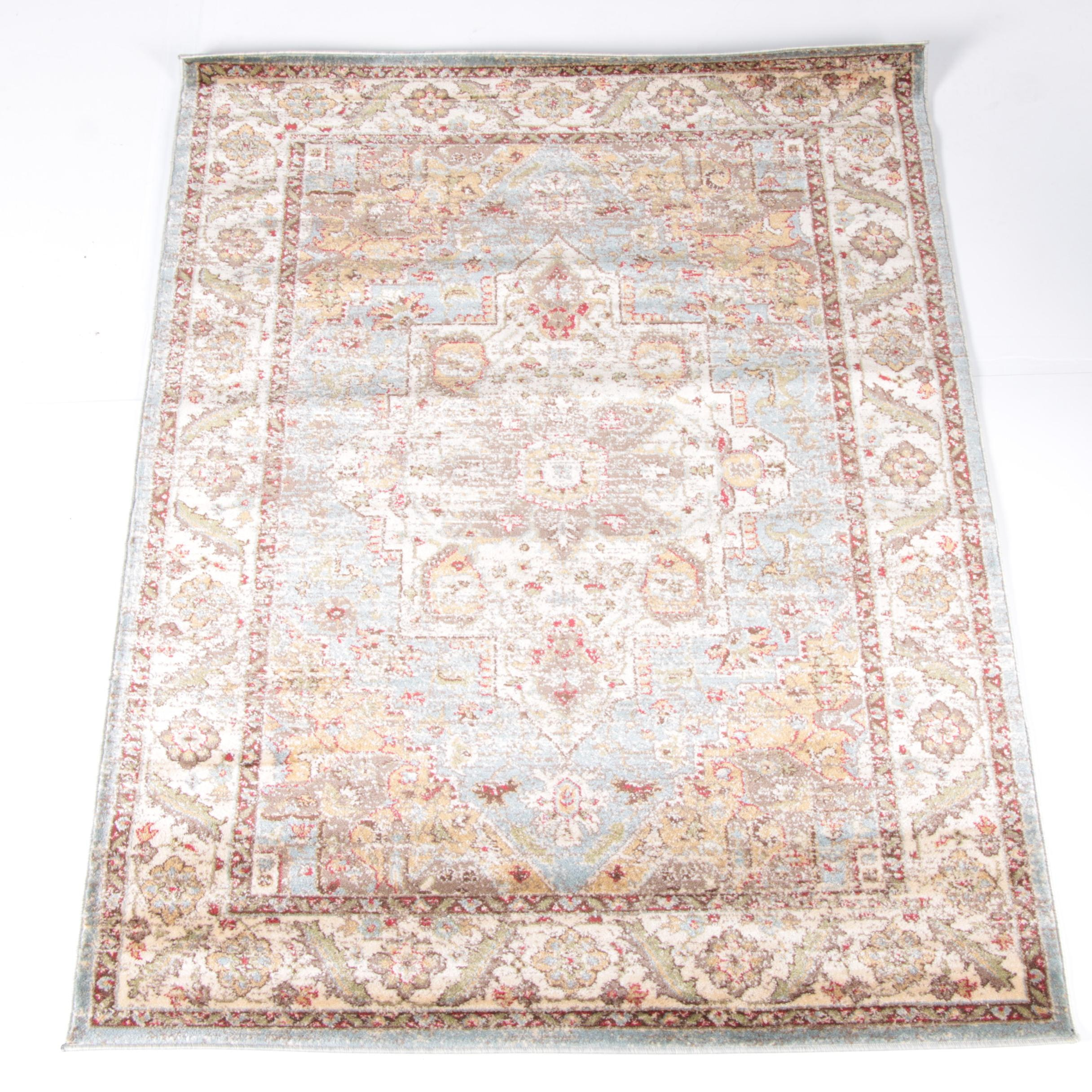 "Power-Loomed Turkish ""Delano"" Nourison Area Rug"