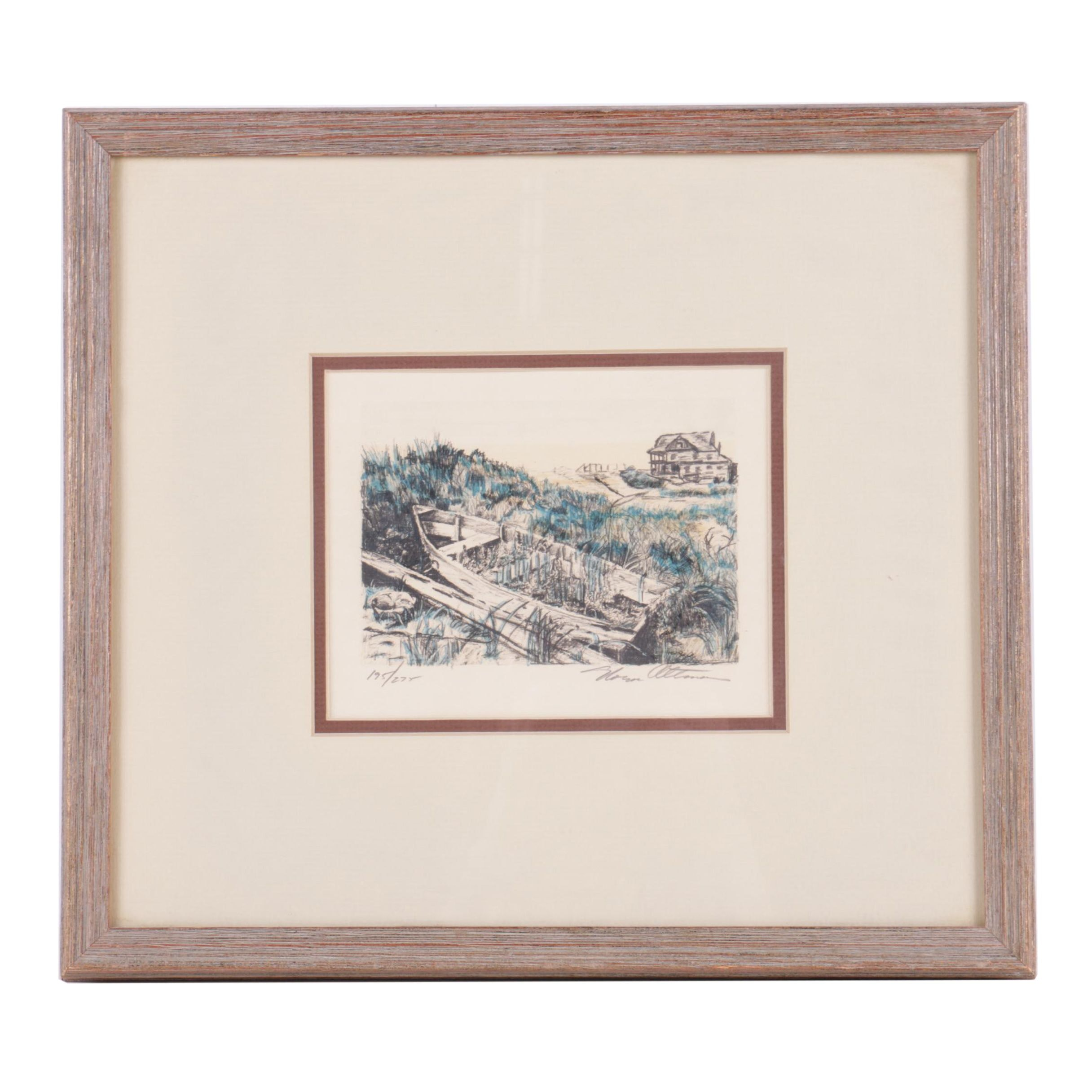 Altman Limited Edition Lithograph on Paper