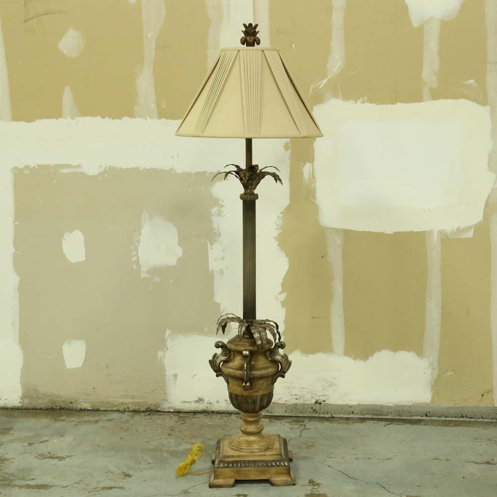 Neoclassical Inspired Floor Lamp