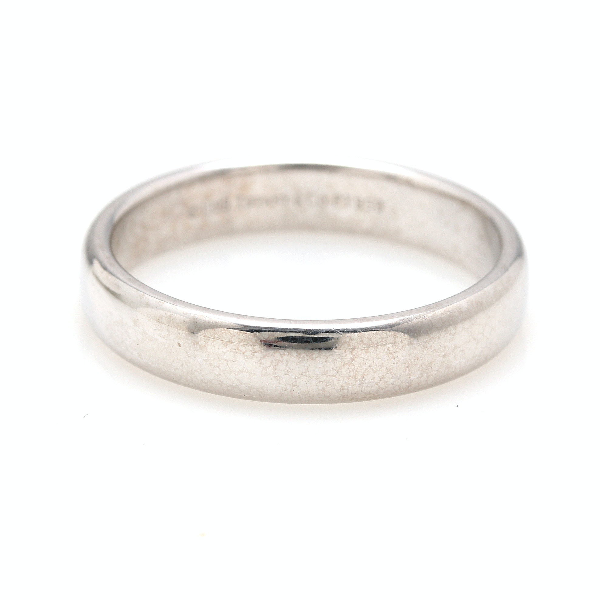 Tiffany & Co. Platinum Ring Band