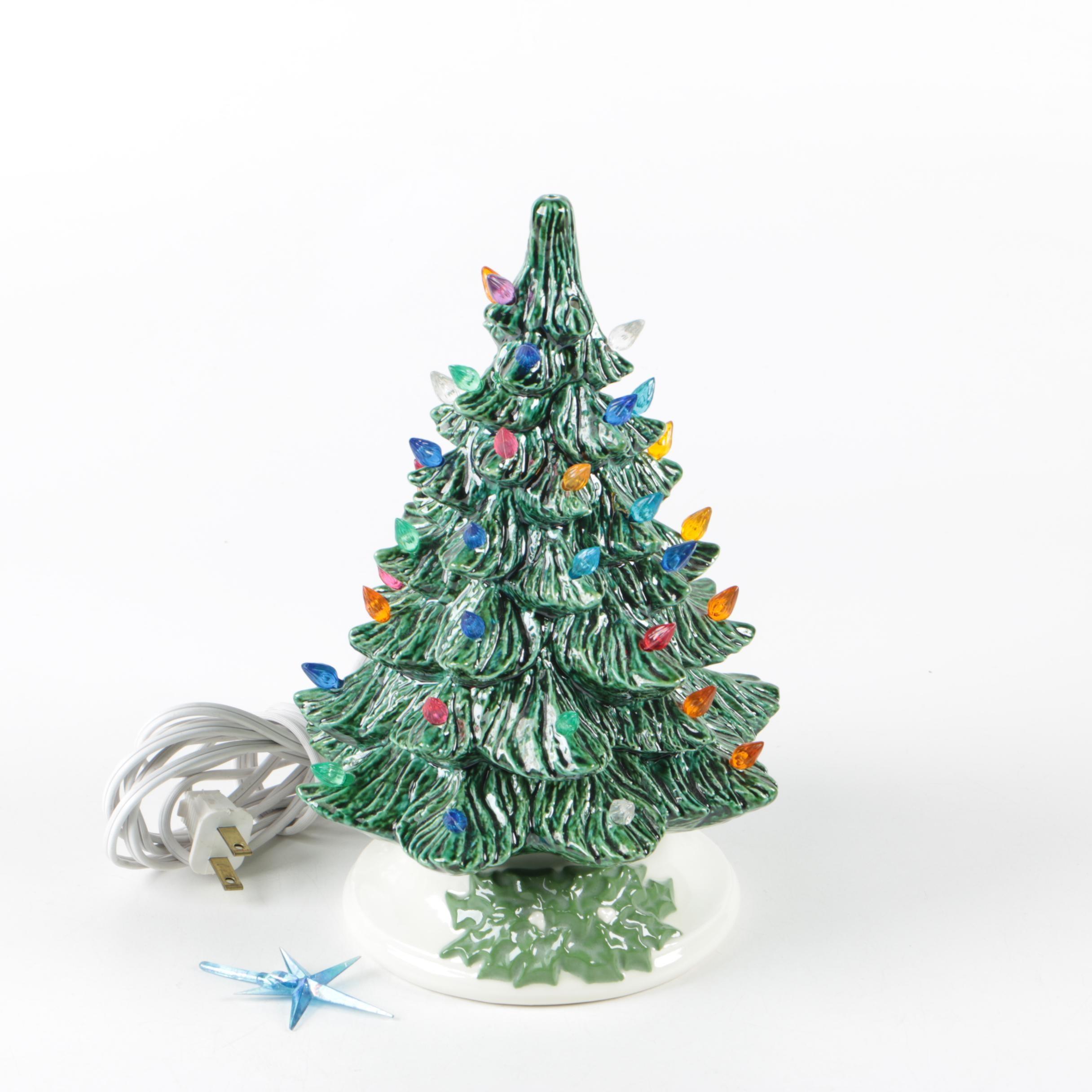 Plastic Bulbs For Ceramic Christmas Trees