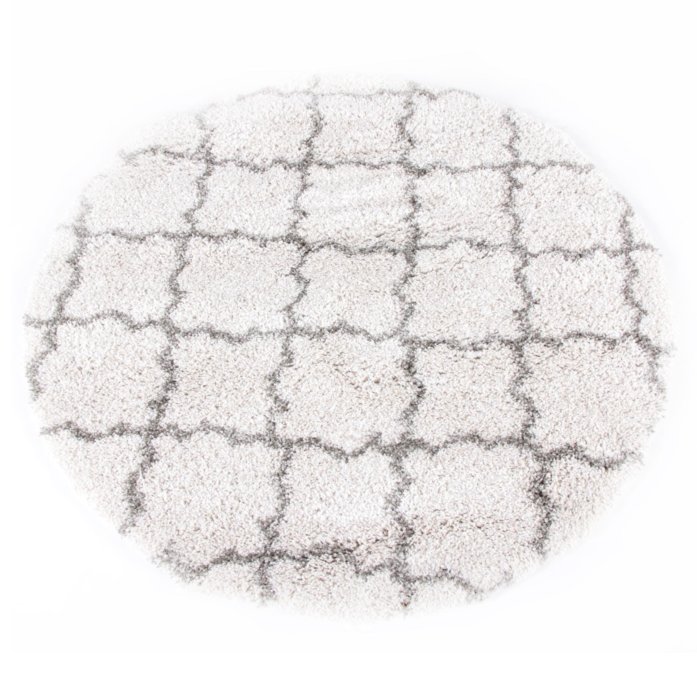 "Power-Loomed Safavieh ""Hudson Shag"" Round Area Rug"