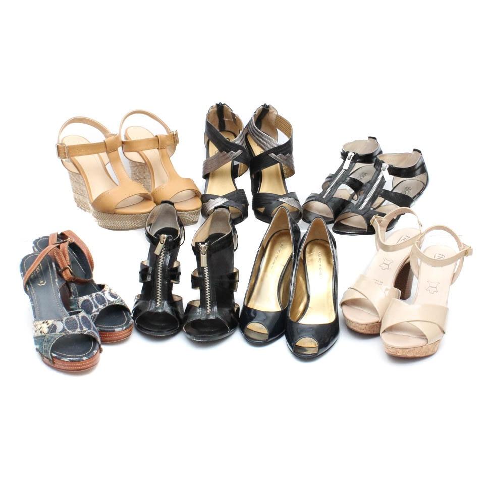 Coach, Michael Kors, Marc Fisher, Seychelles and More Designer Dress Shoes