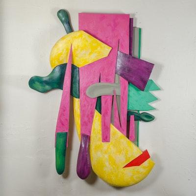 "Bill Schiffer Mixed Media Sculpture ""Dreamscape"""