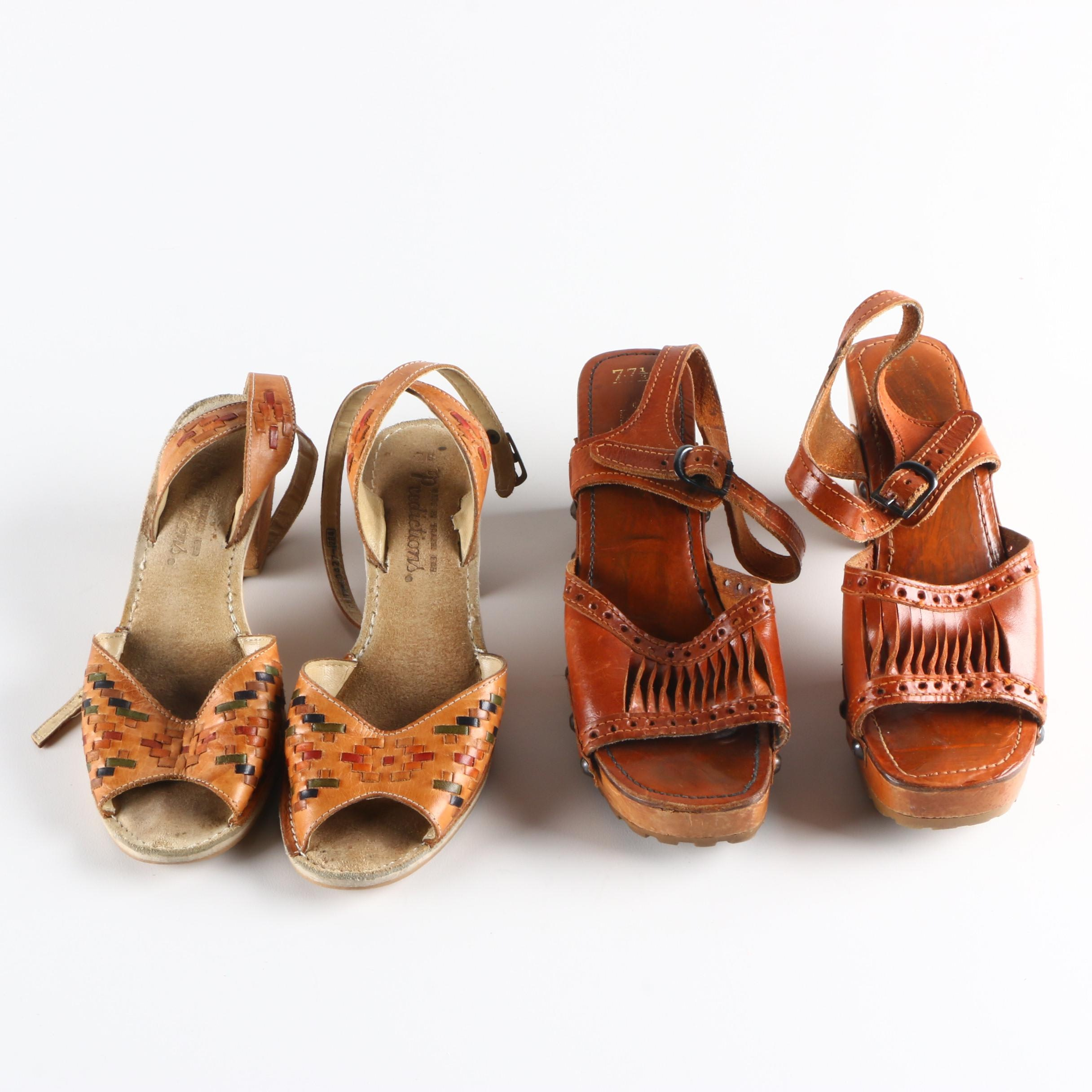 Vintage Leather Sandals Including Predictions