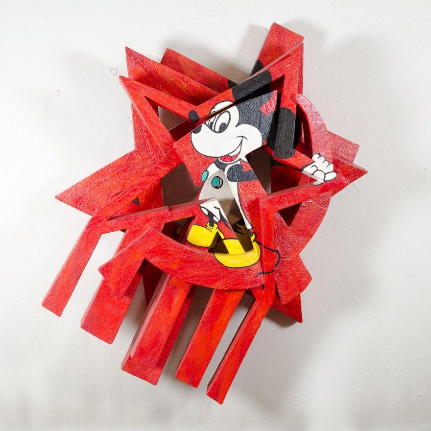 "Bill Schiffer ""New World Order"" Sculpture"