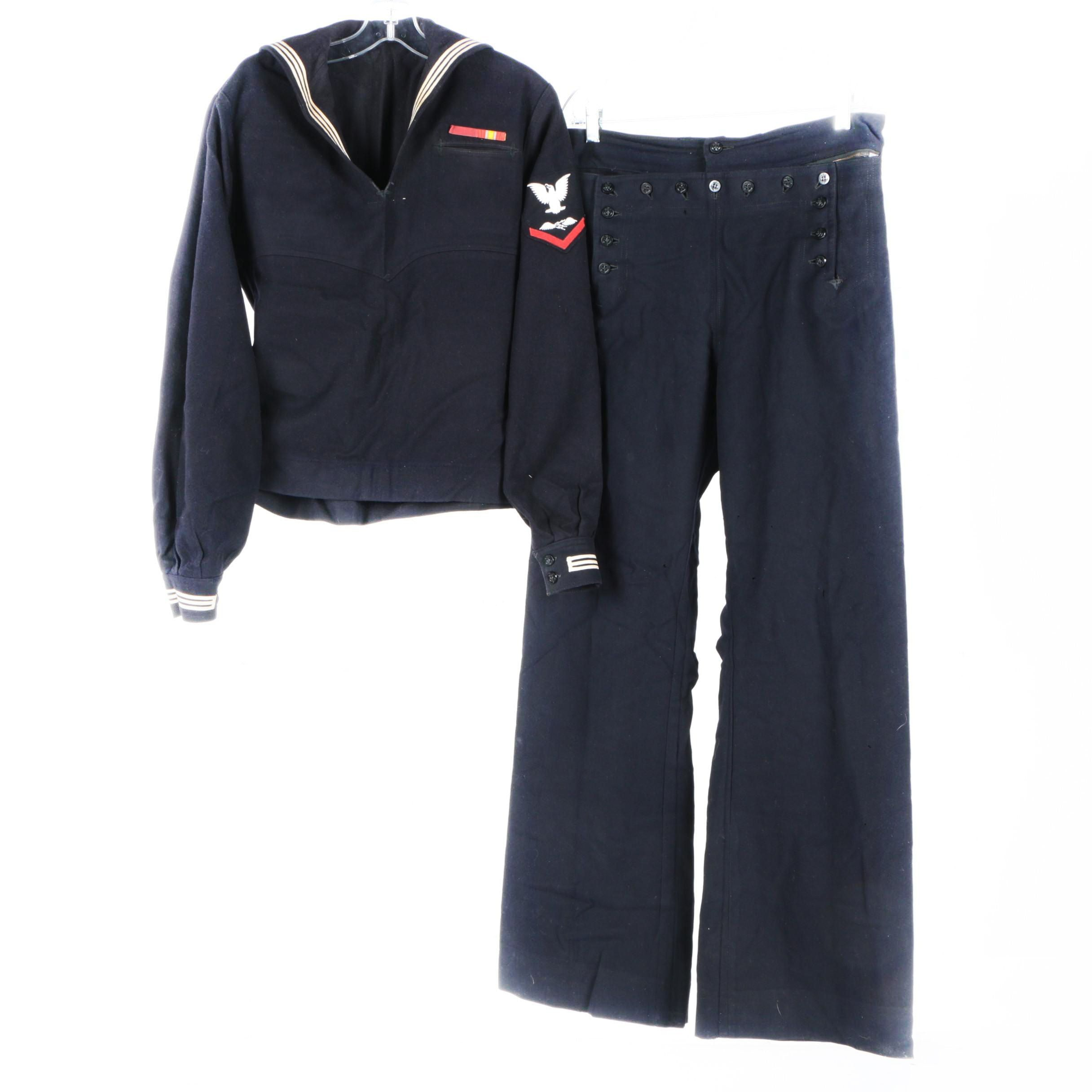 Vintage U.S. Navy Jumper and Trousers