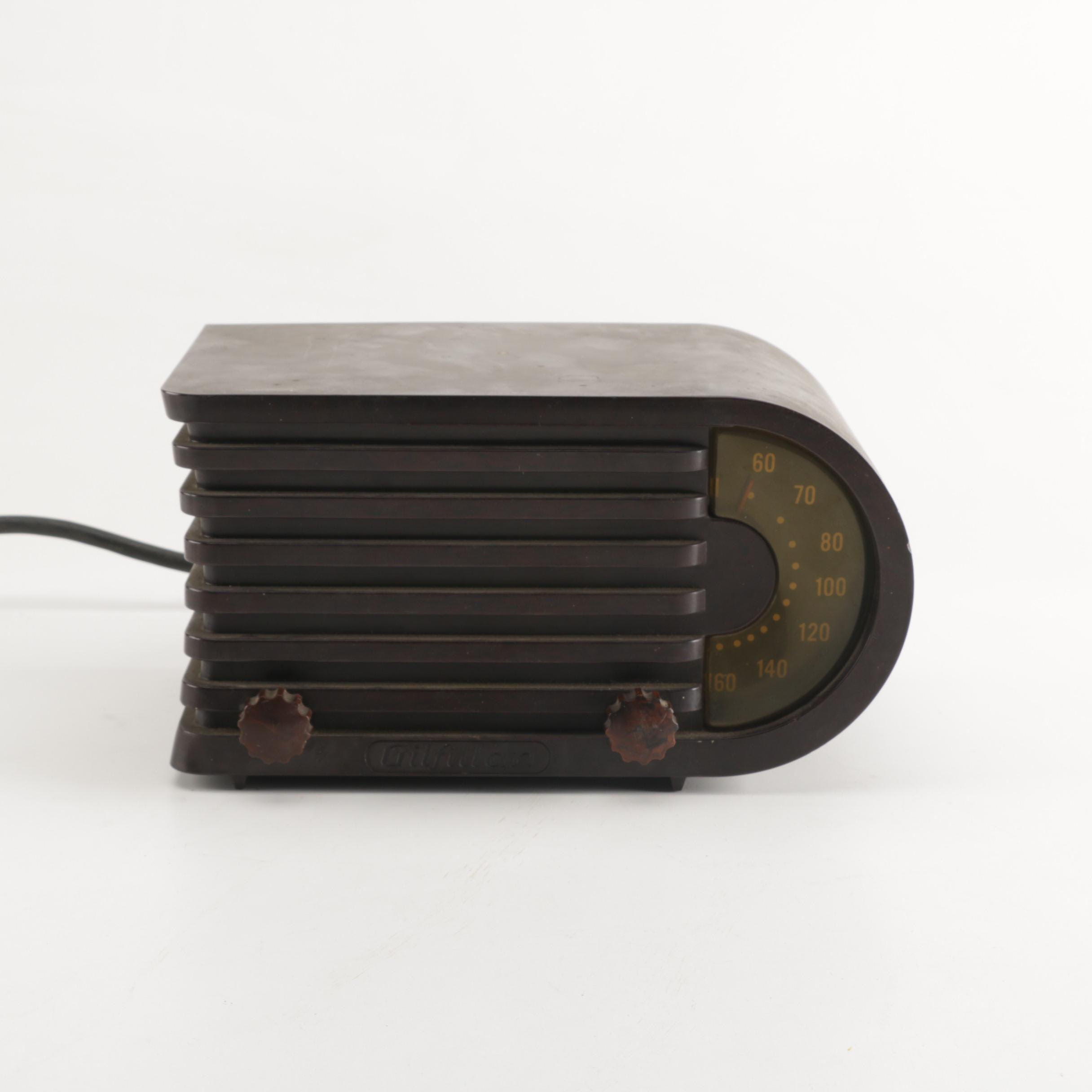 Vintage Gilfillan Radio