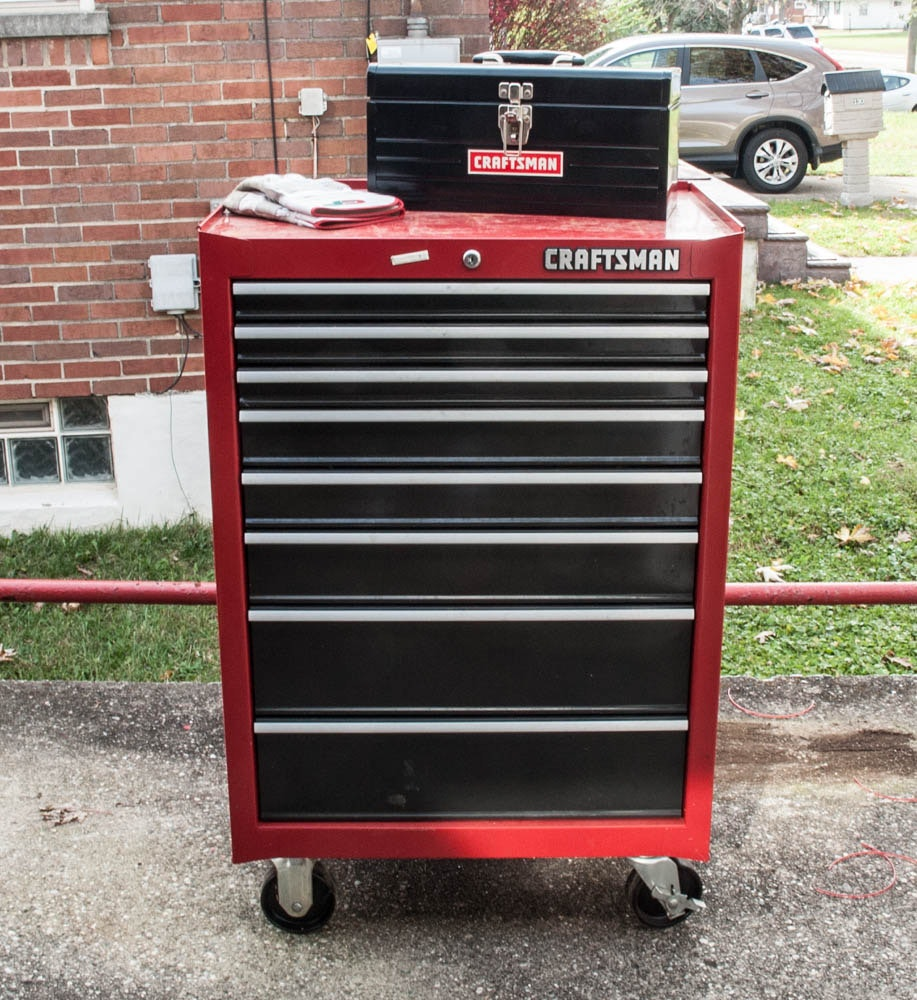Craftsman 8 Drawer Rolling Tool Chest with Portable Tool Box