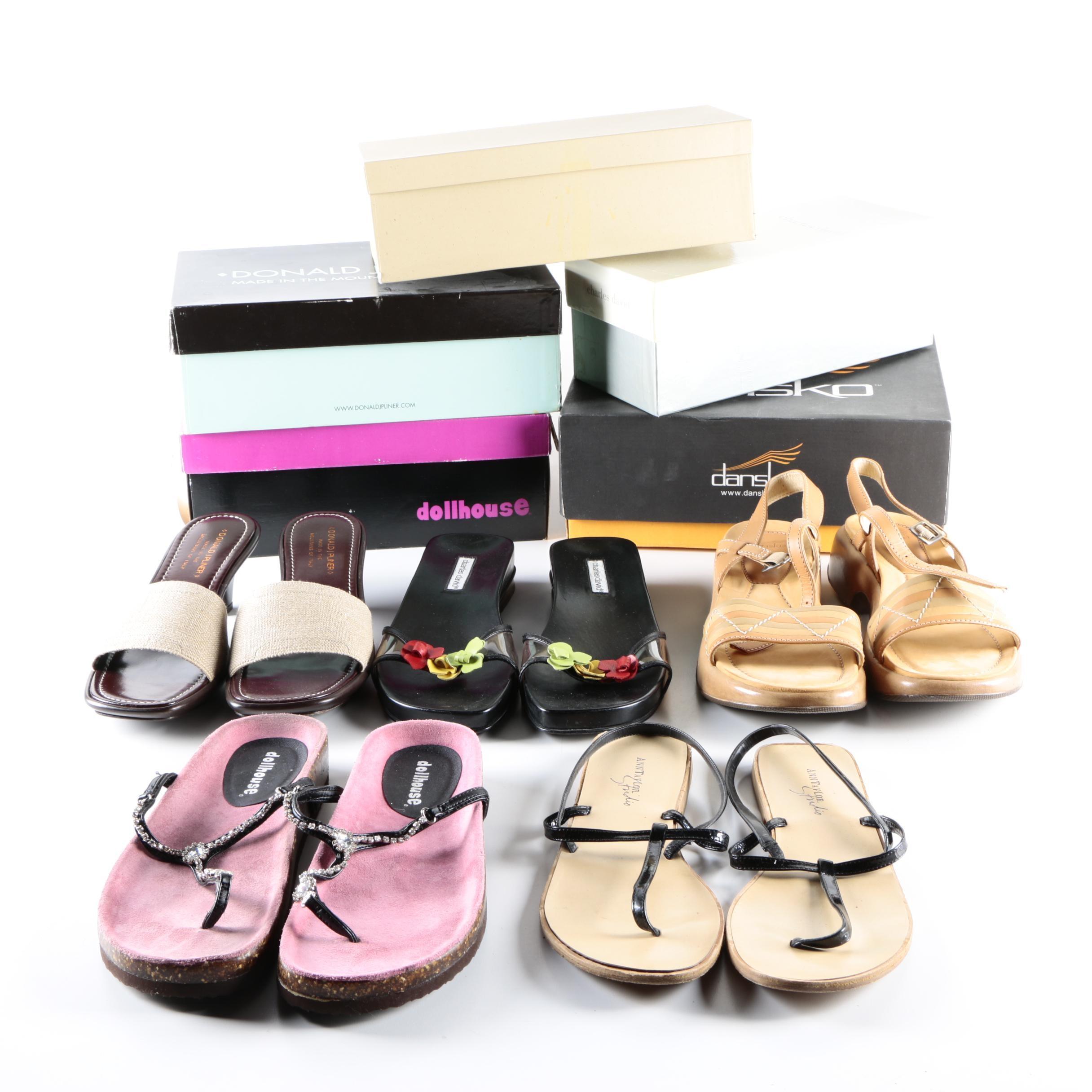 Women's Sandals Including Dansko and Donald J. Pliner