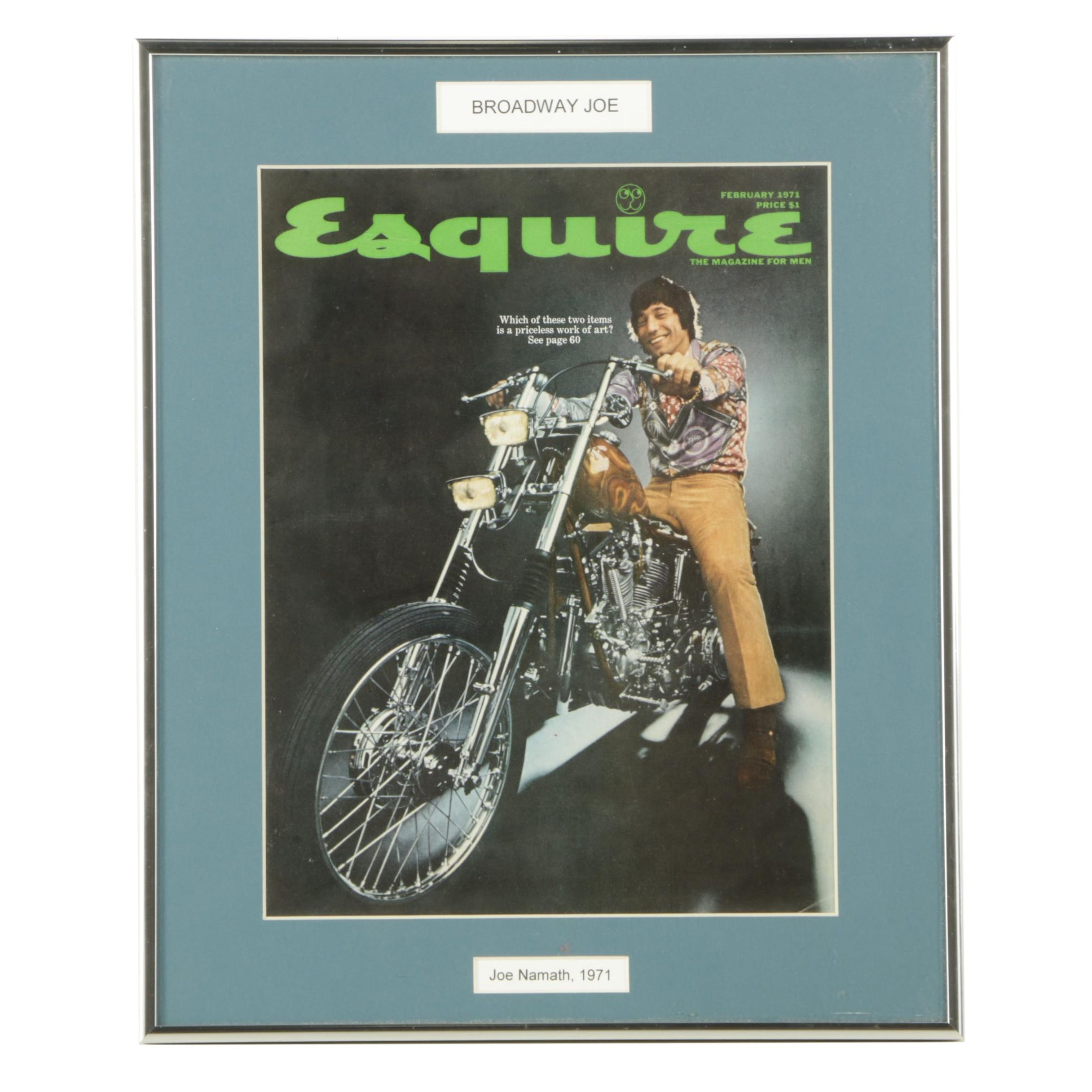 February 1971 Edition of Esquire Magazine