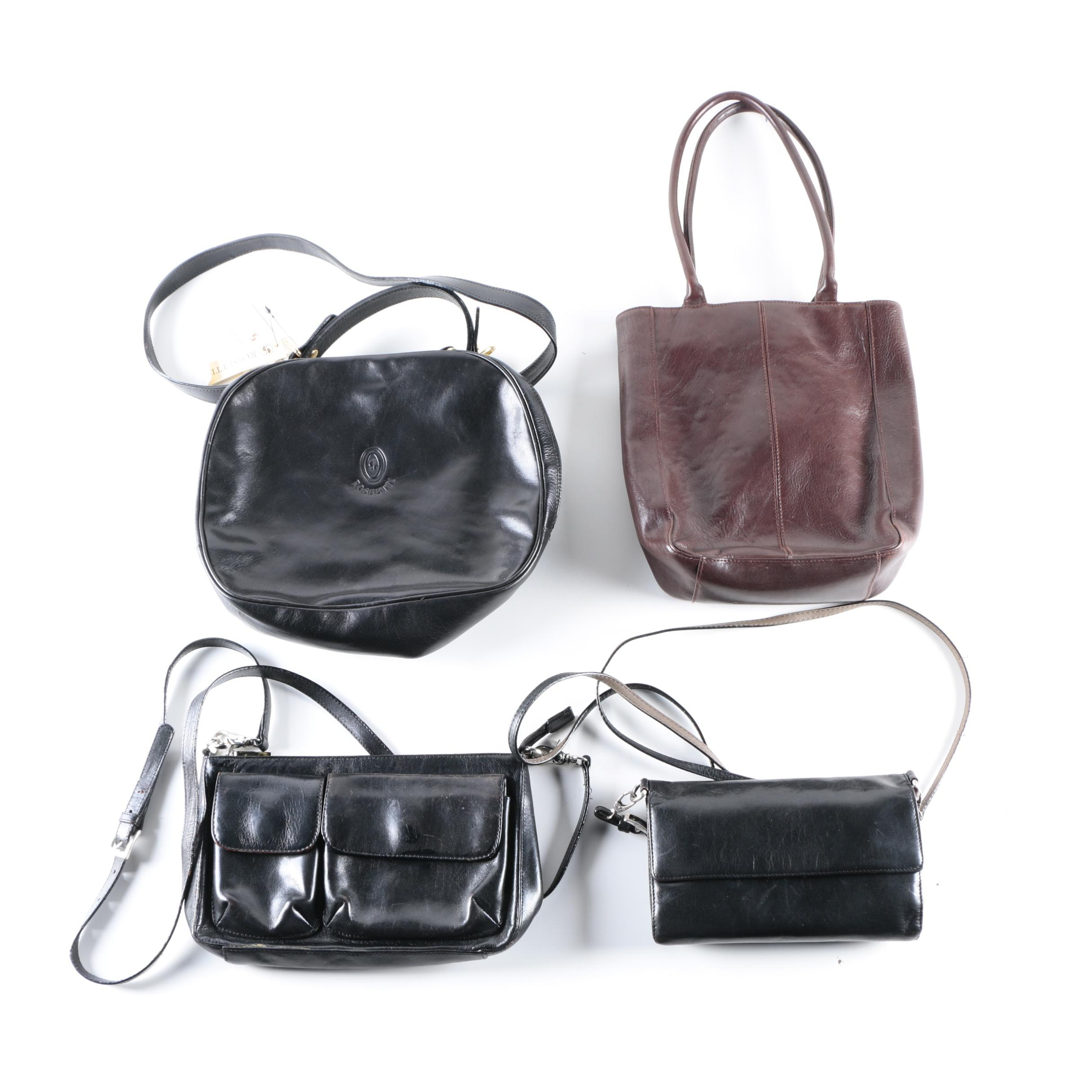 Hobo International and Rossetti Leather Handbags