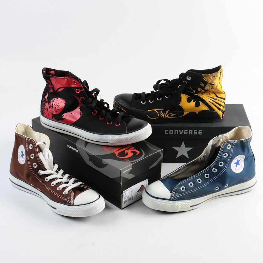 1c037c2953f High Top Converse featuring