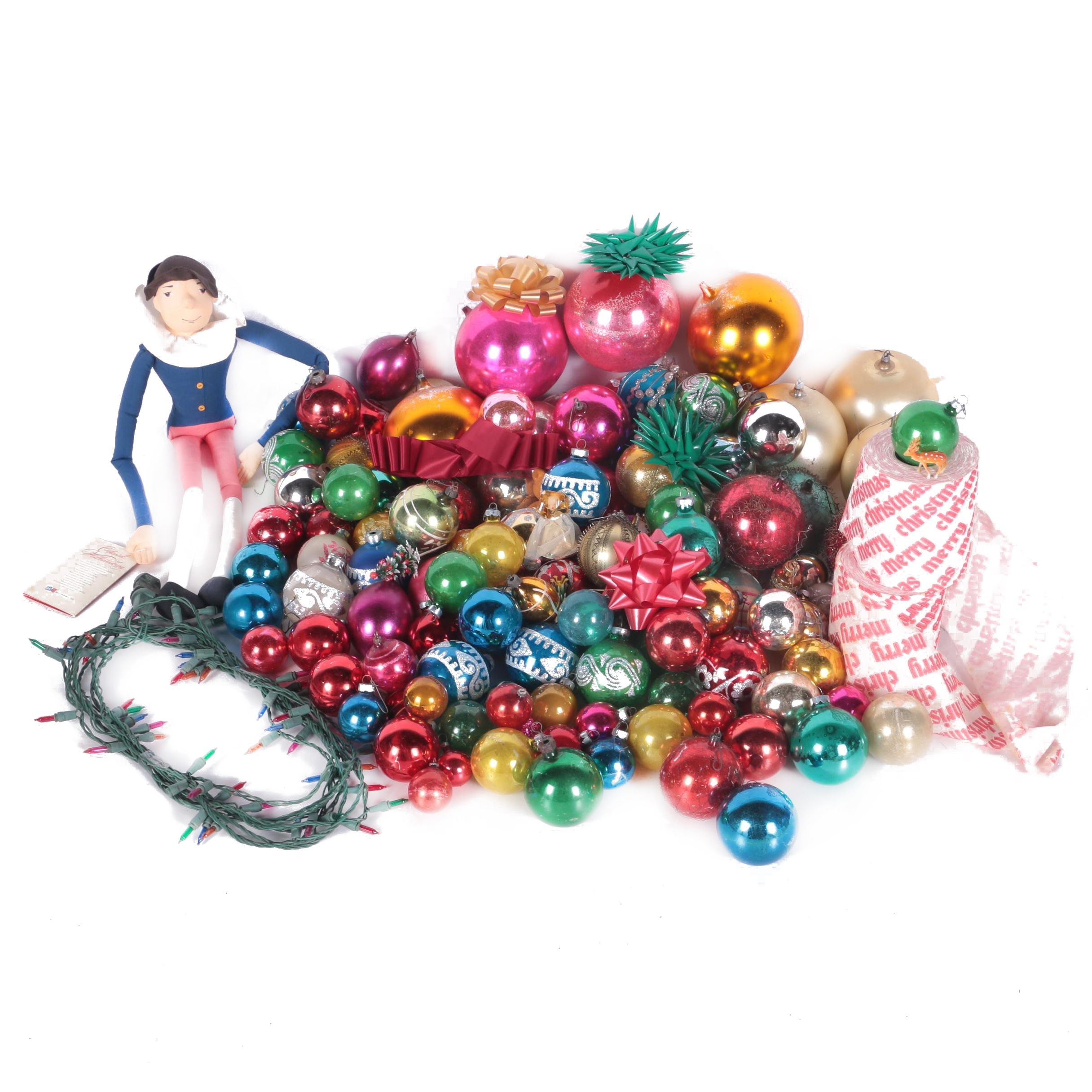 Large Collection of Vintage Christmas Decor