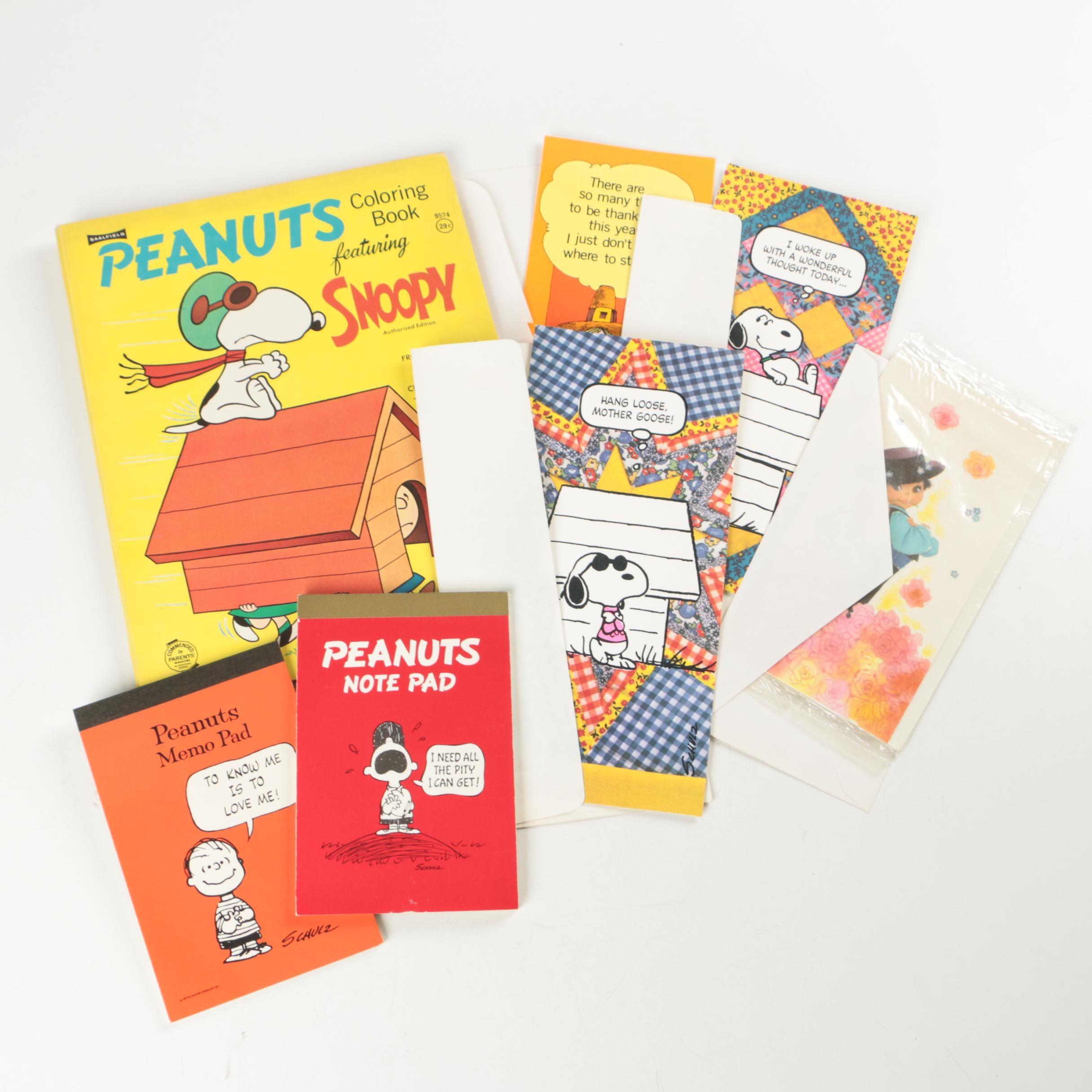Peanuts Paper and Ephemera