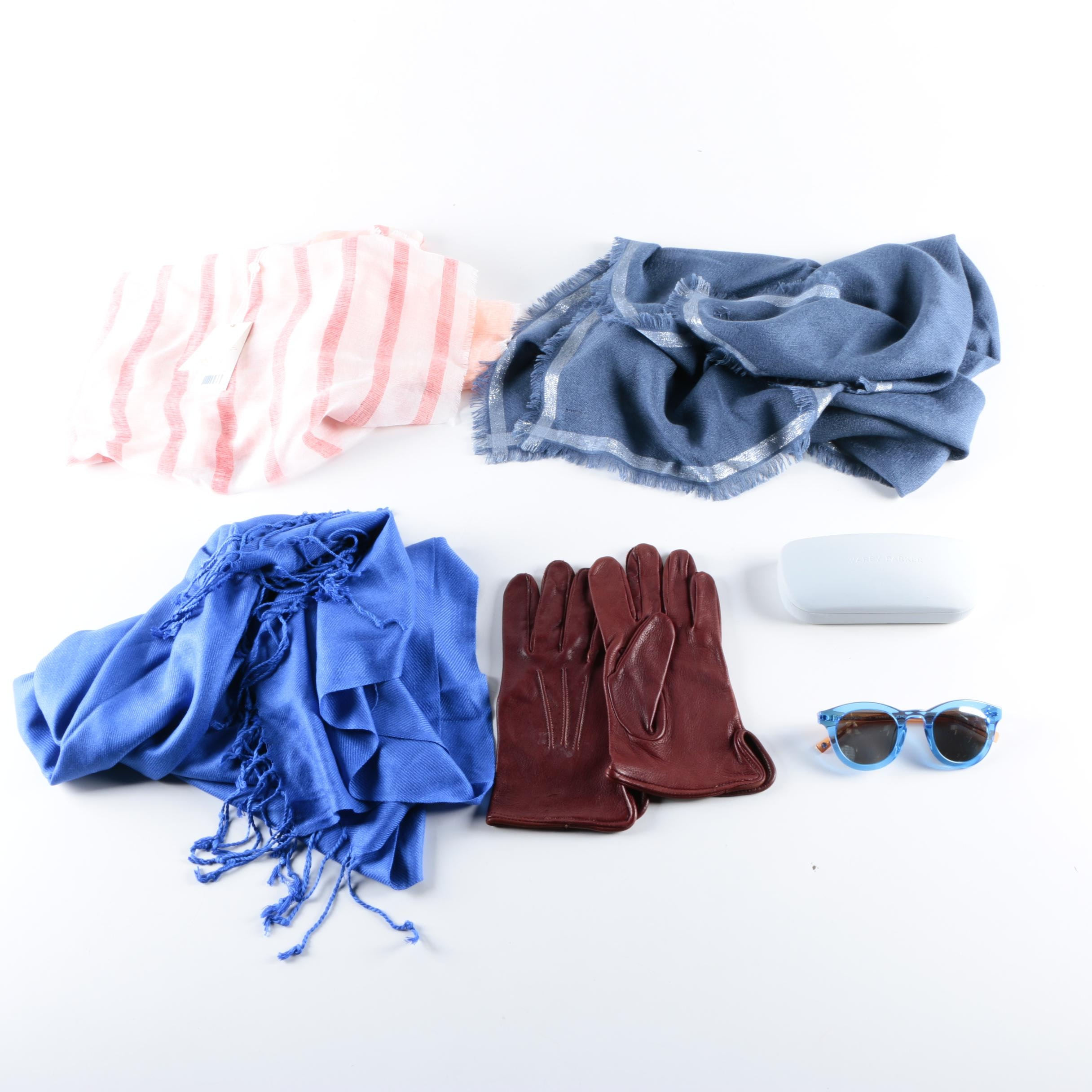 Scarves and Accessories Including Tory Burch