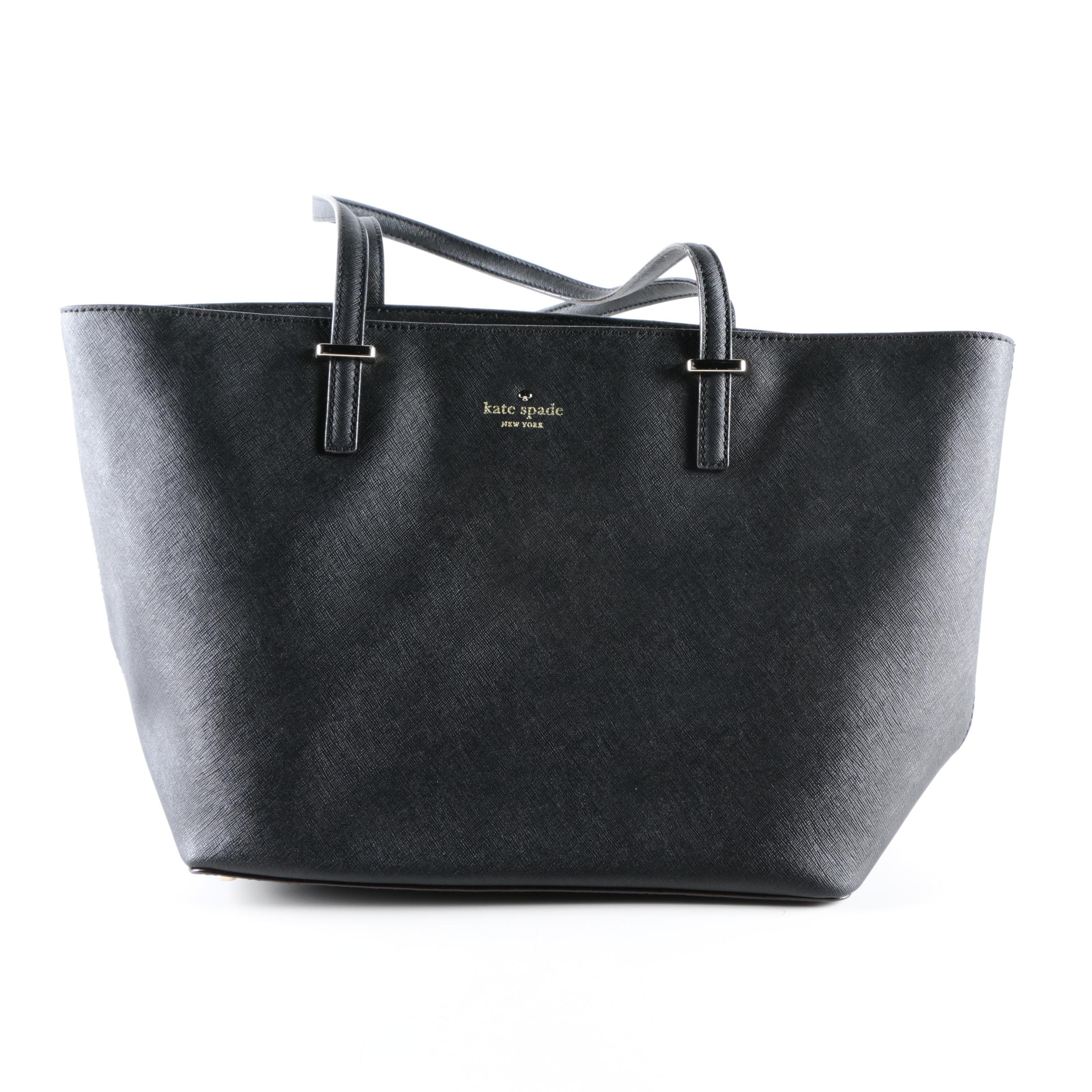 Kate Spade New York Black Leather Bag