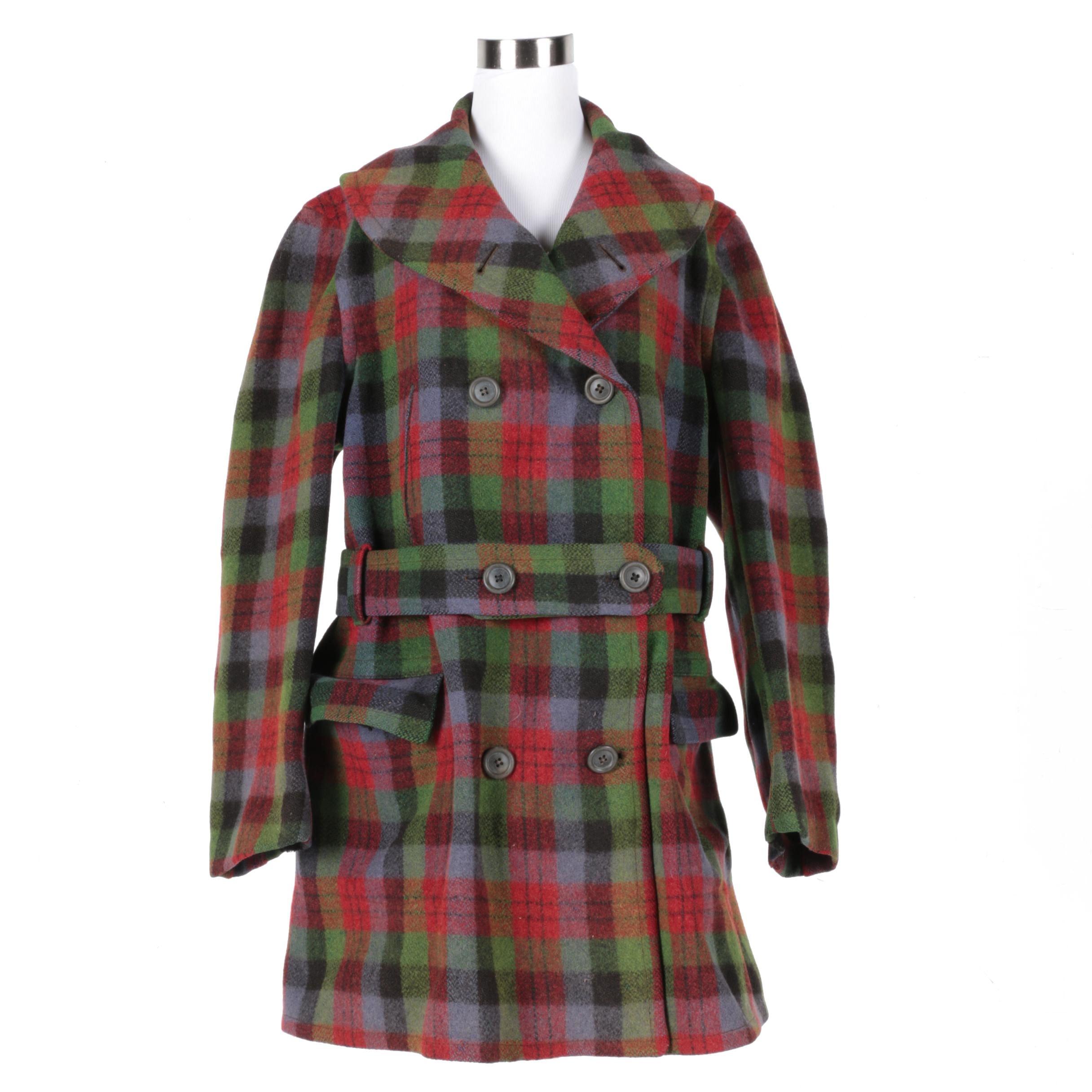 Women's Vintage Wool Coat